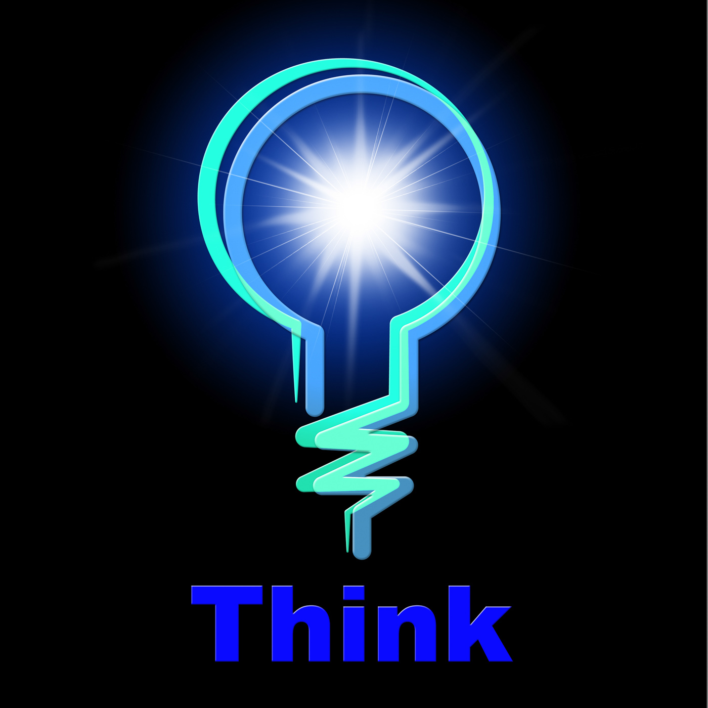 Light Bulb Means Think About It And Thinking, Idea, Reflection, Reflecting, Reflect, HQ Photo