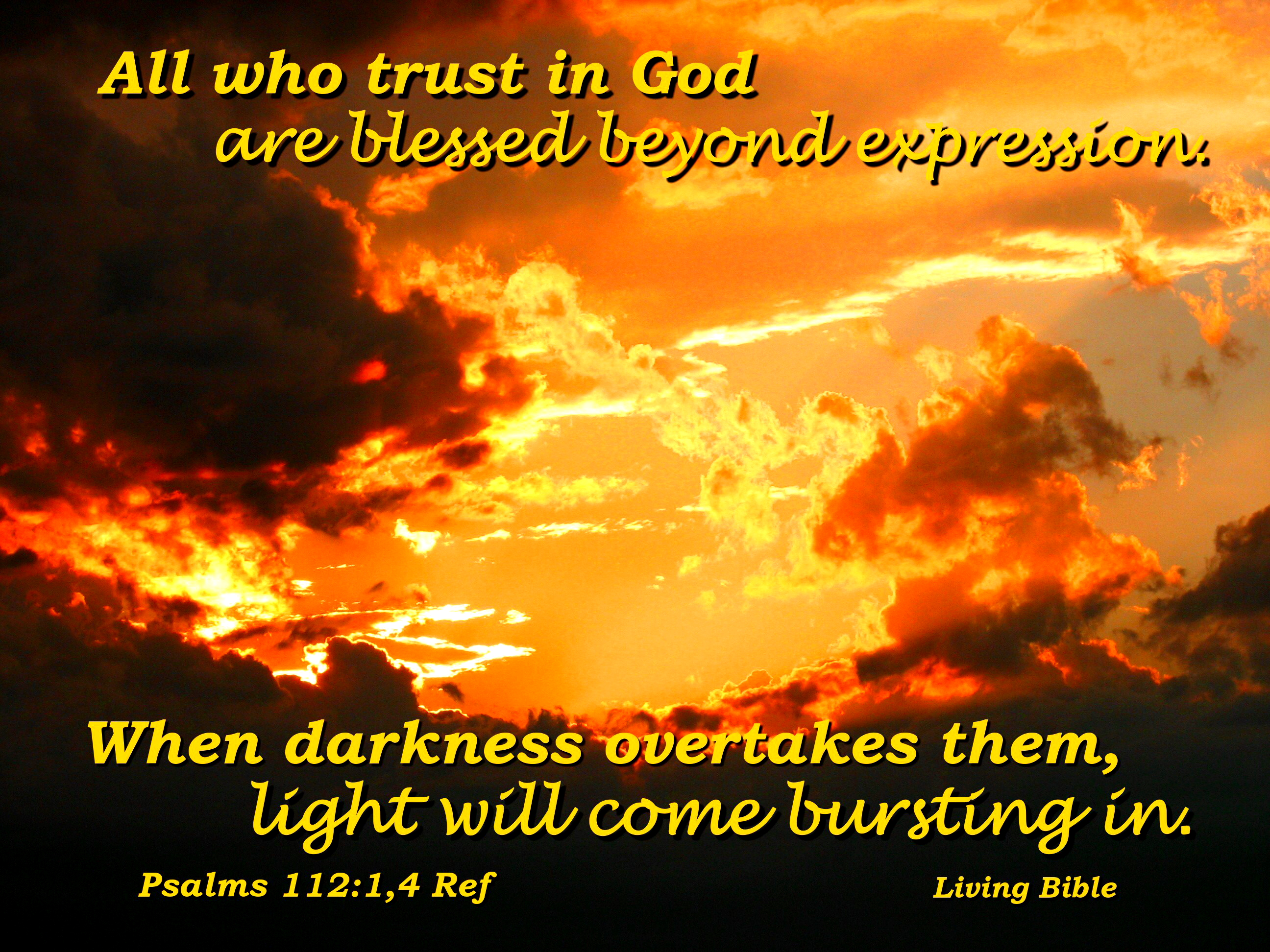 Light Comes Bursting In, Bible, Clouds, Inspirational, Sky, HQ Photo