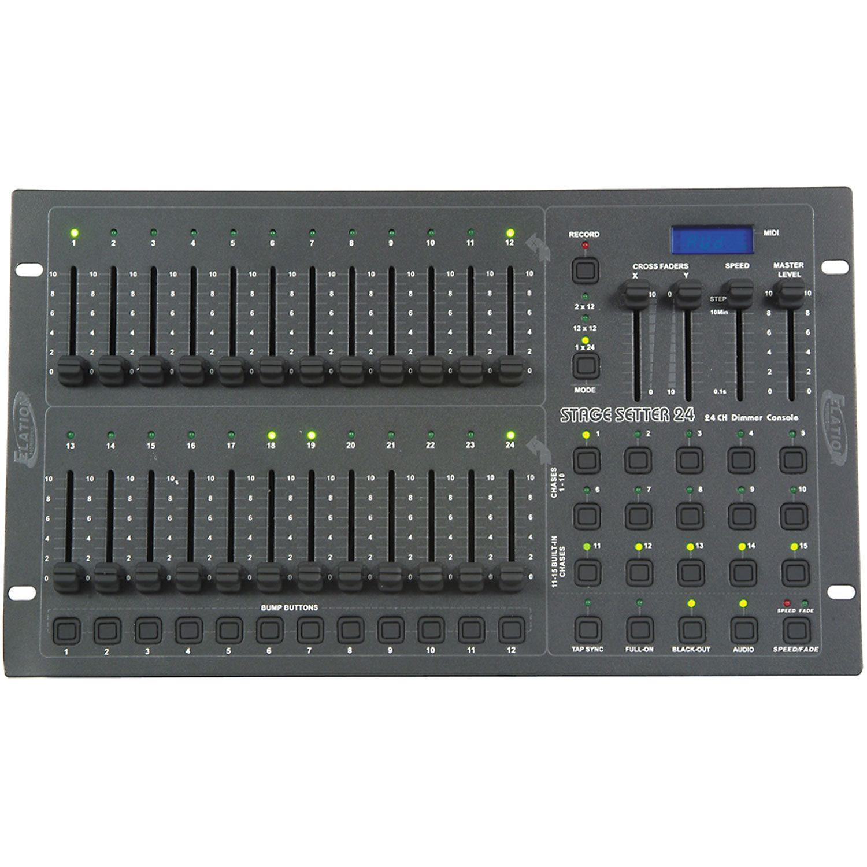 Elation Stage Setter 24 Channel DMX Light Controller | PSSL