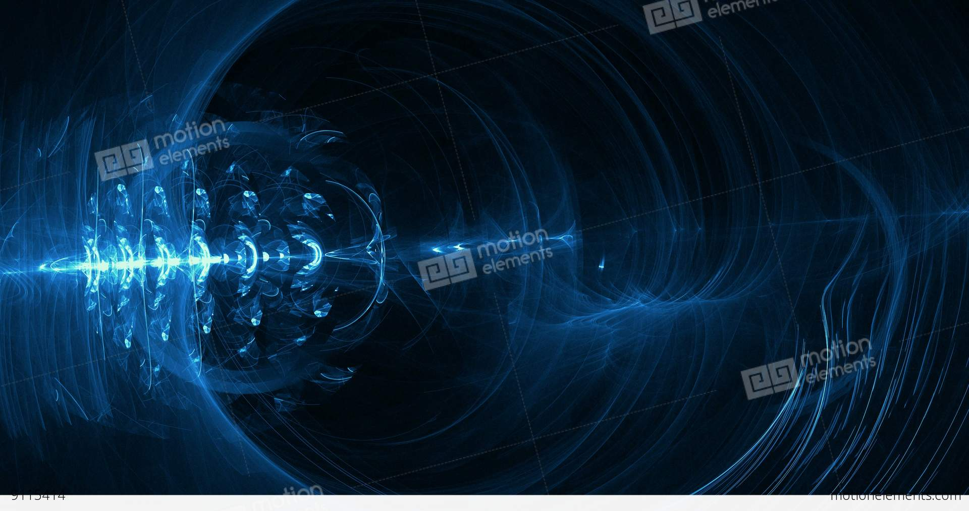 Digital Particle Animation Of Light Effects In 4K Stock Animation ...