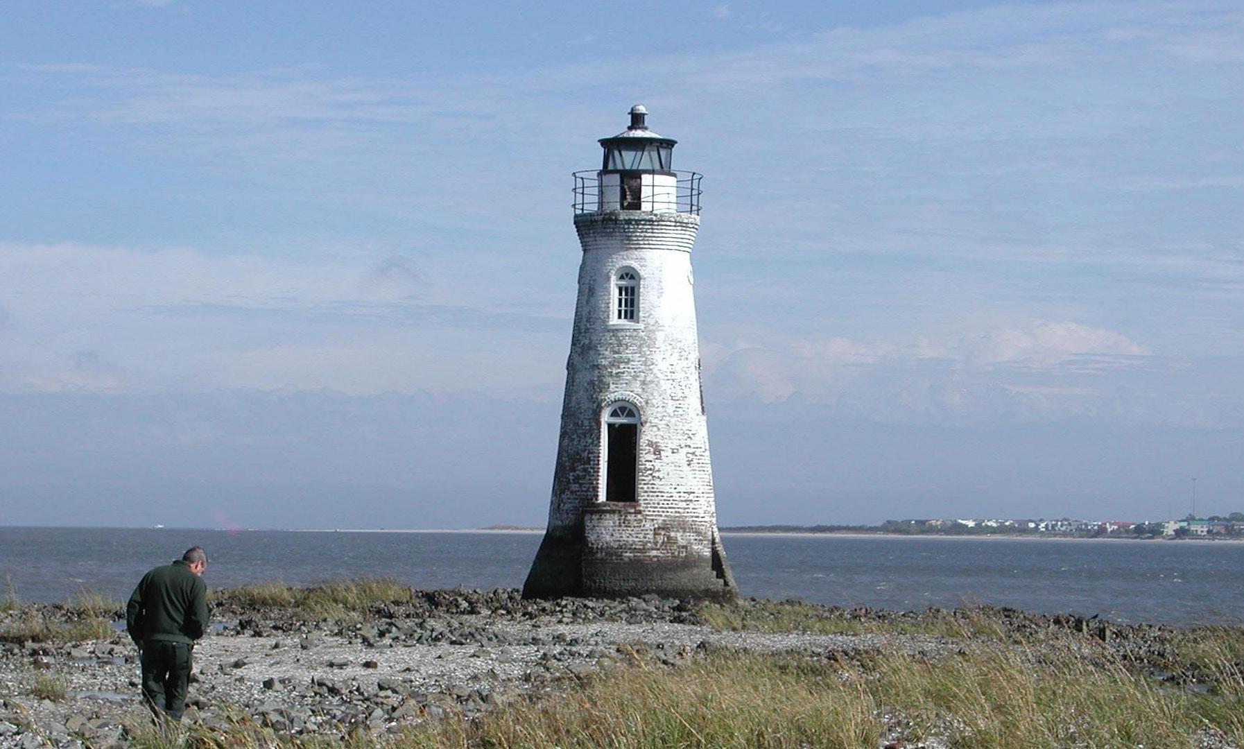 Cockspur Island Lighthouse - Fort Pulaski National Monument (U.S. ...