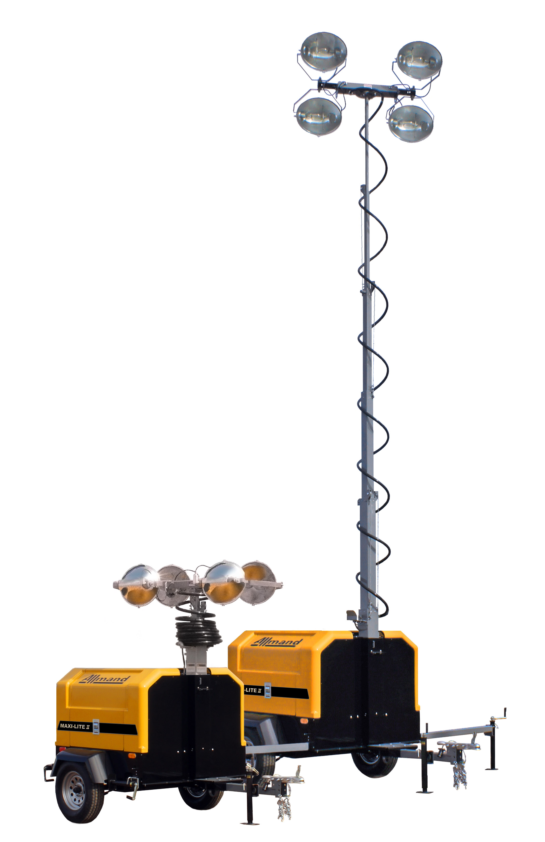 Allmand Unveils New Maxi-Lite II Light Tower - PennEnergy