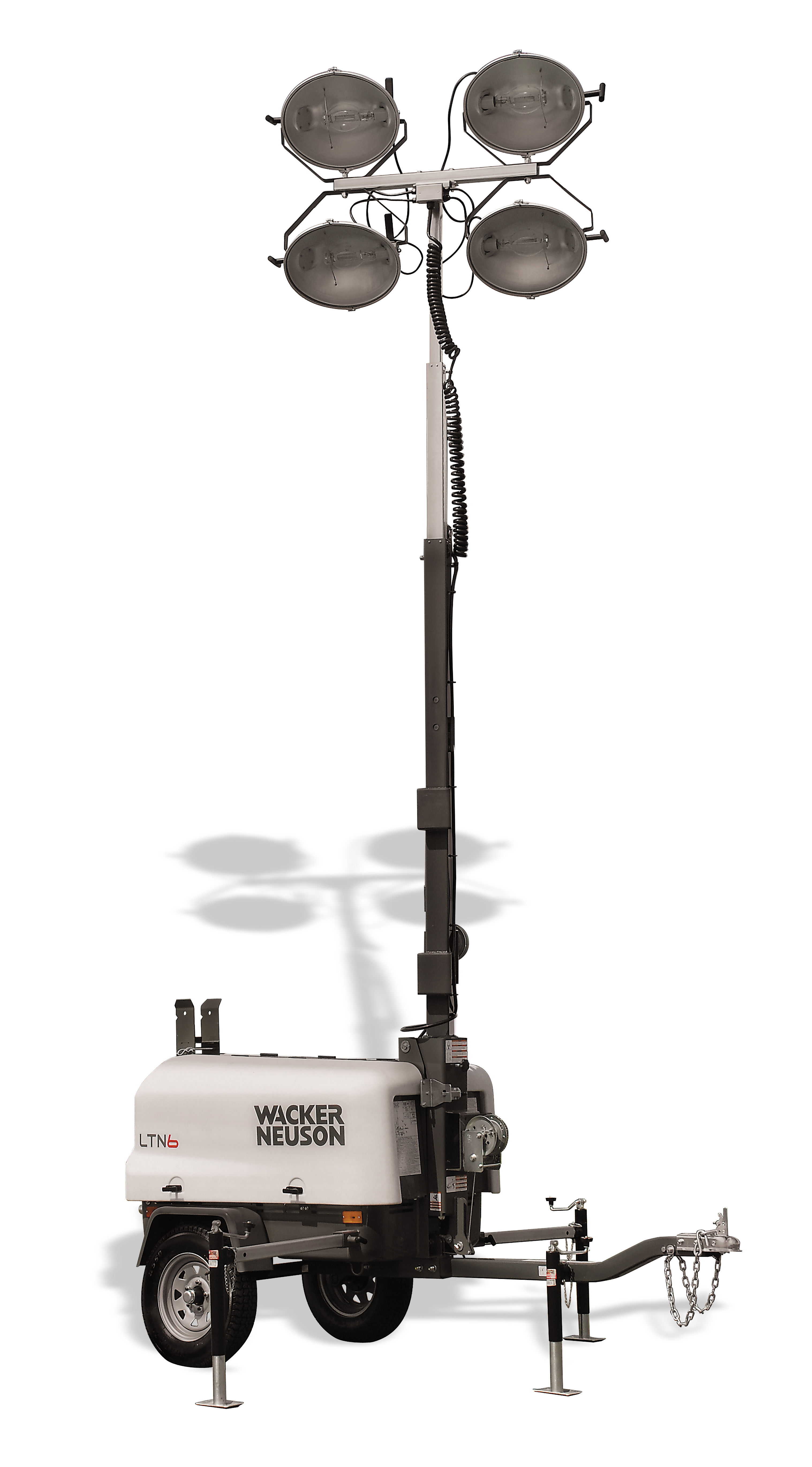 Wacker Light Towers, Portable Light Towers - Kelly Tractor