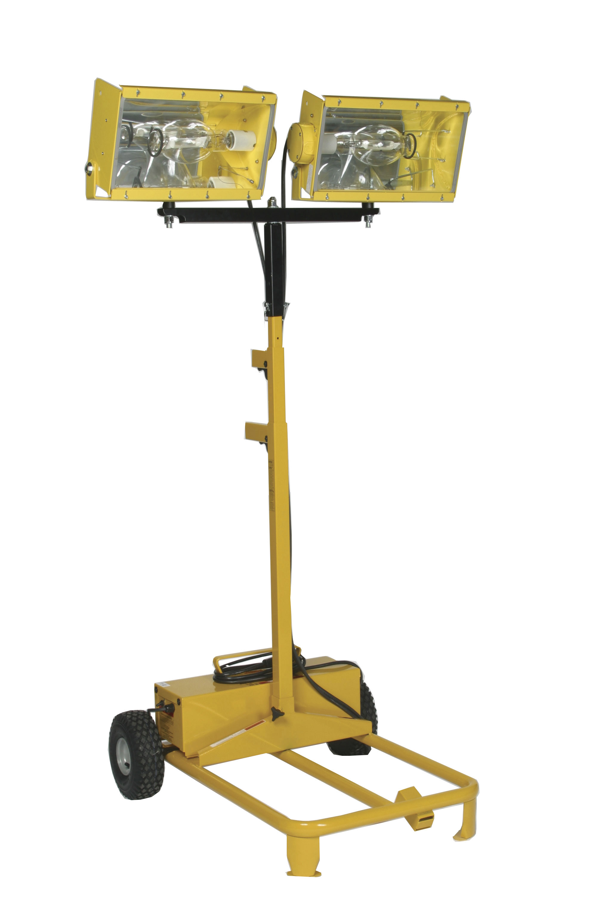 Bull Dog Power Products dual-headed light tower
