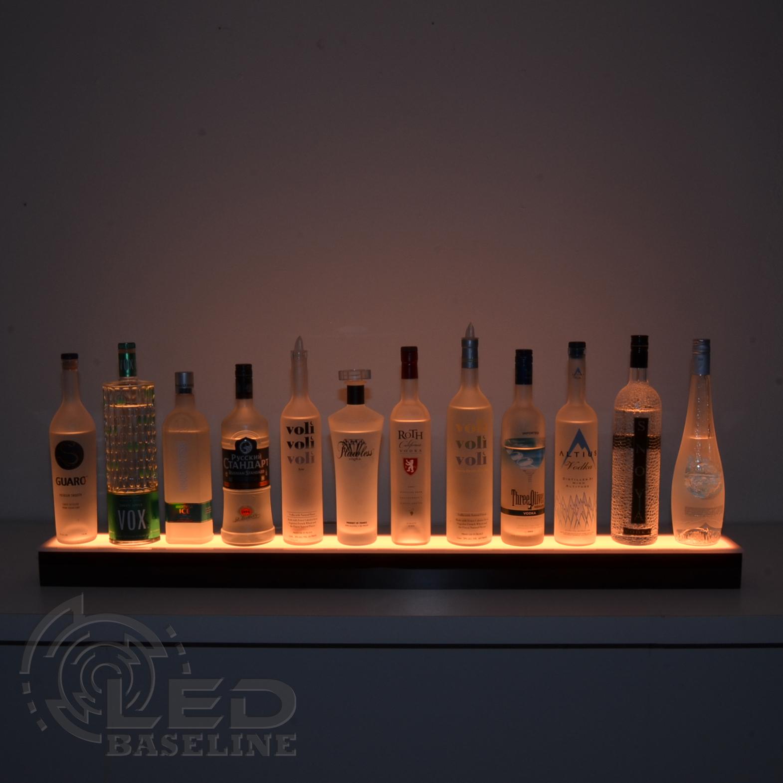 Lighted liquor photo