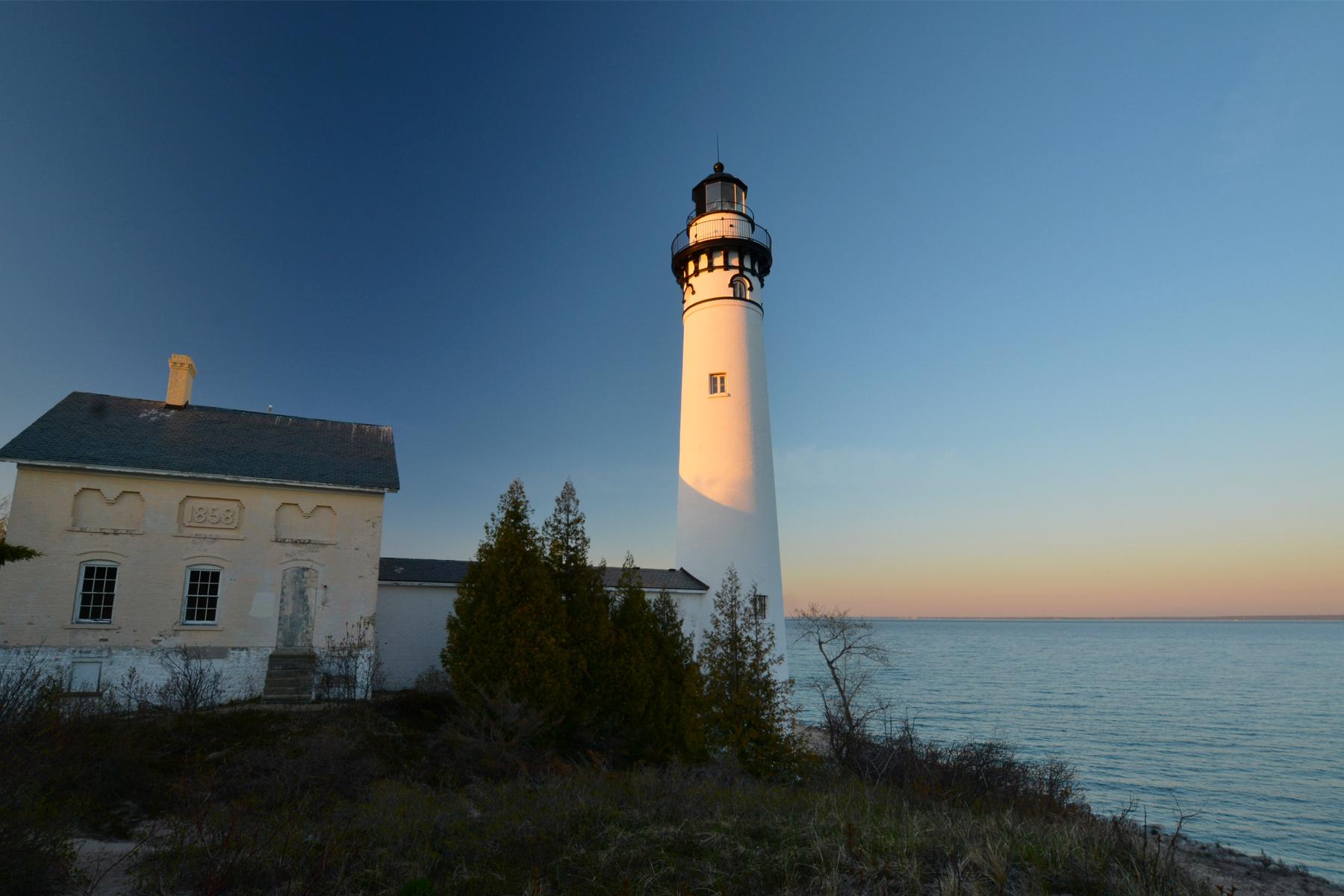 South Manitou Island Lighthouse - Sleeping Bear Dunes National ...