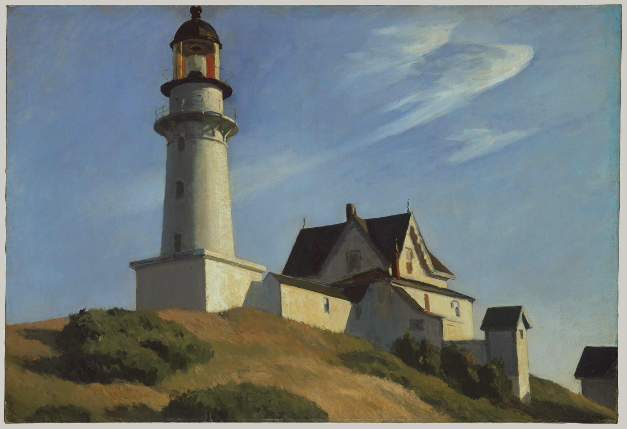 The Lighthouse at Two Lights | Edward Hopper | 62.95 | Work of Art ...