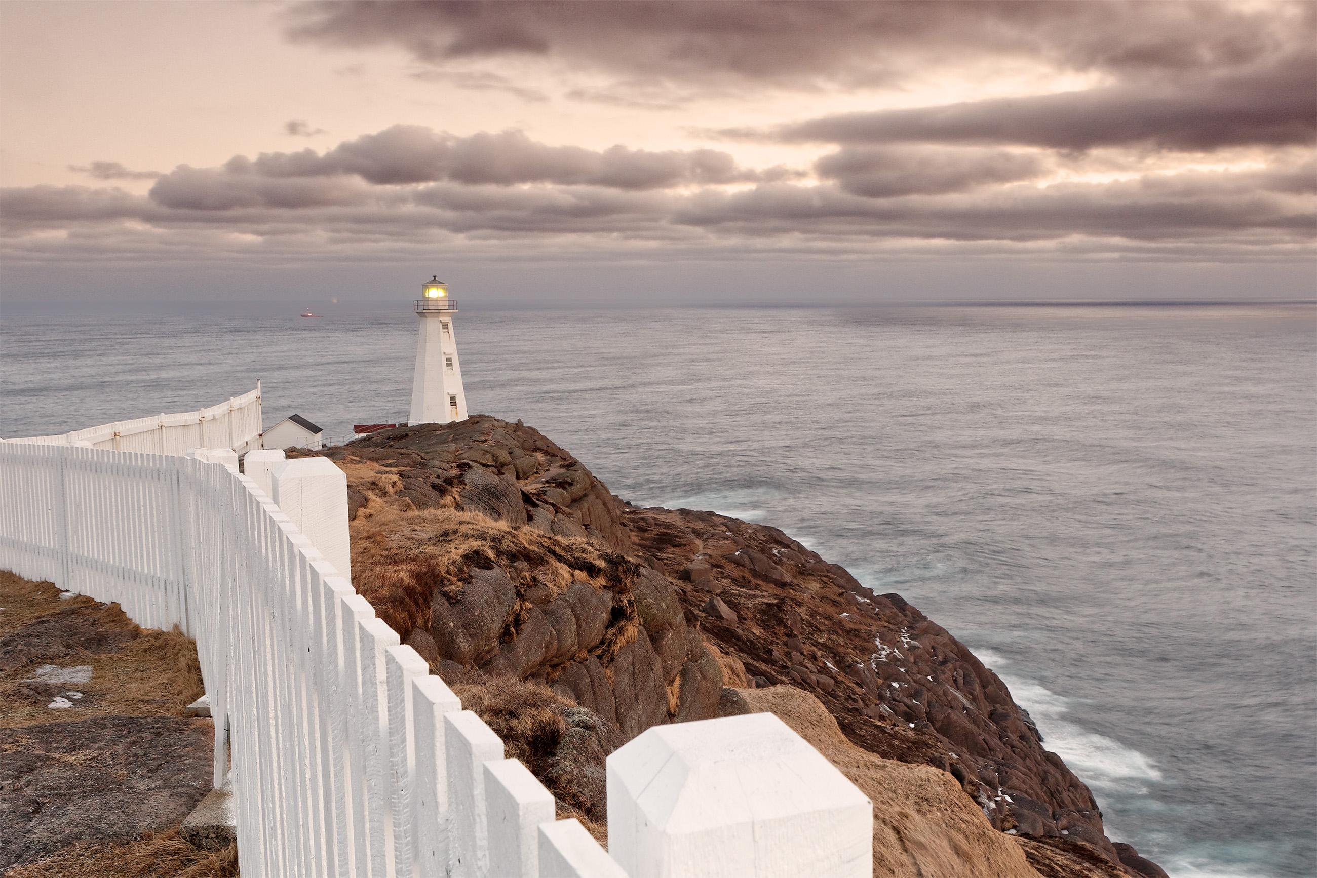 Lighthouse, Blue, Ocean, Vessels, Transportation, HQ Photo