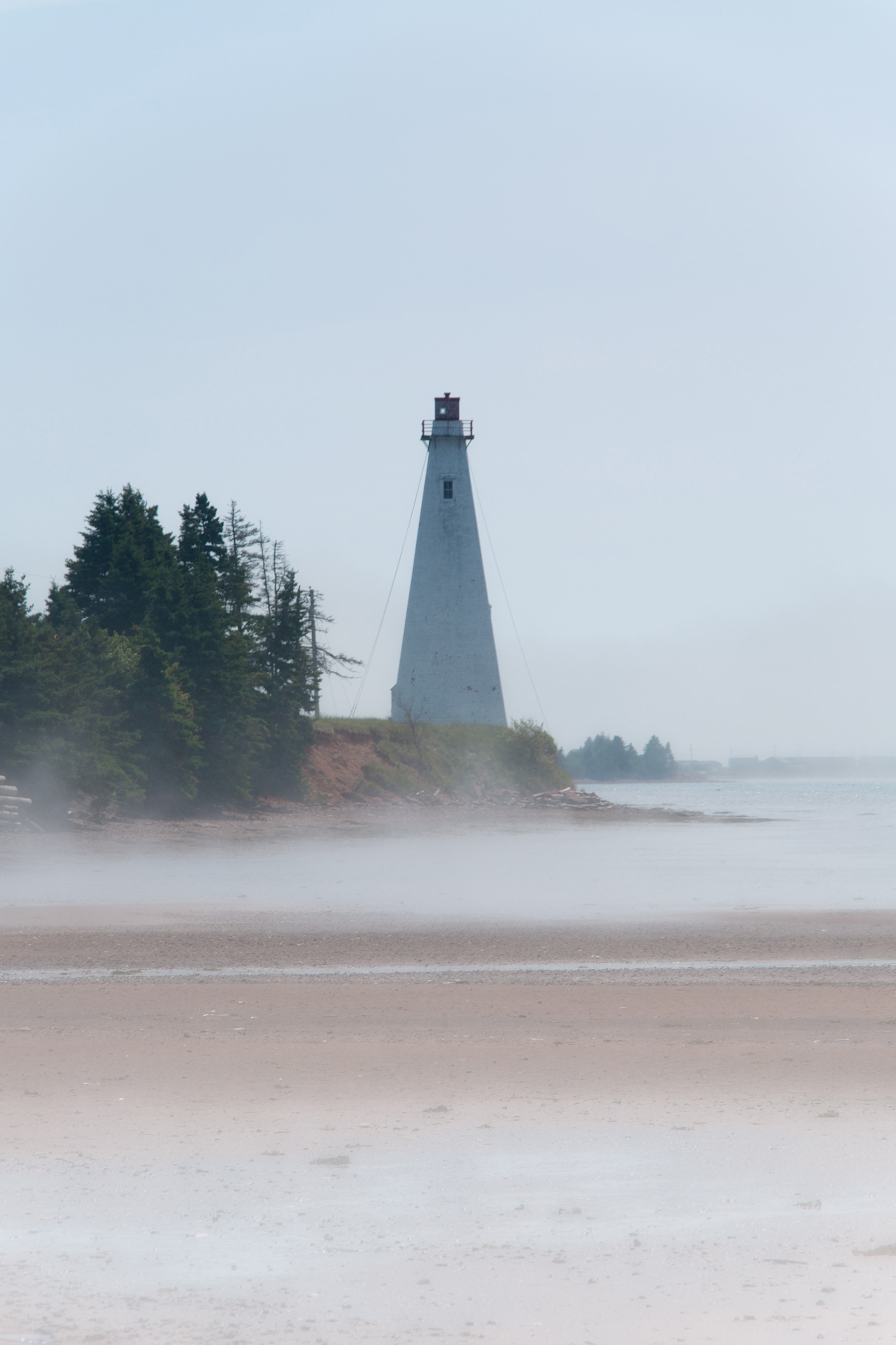 Lighthouse, Atlantic, Shore, Seashore, Seascape, HQ Photo
