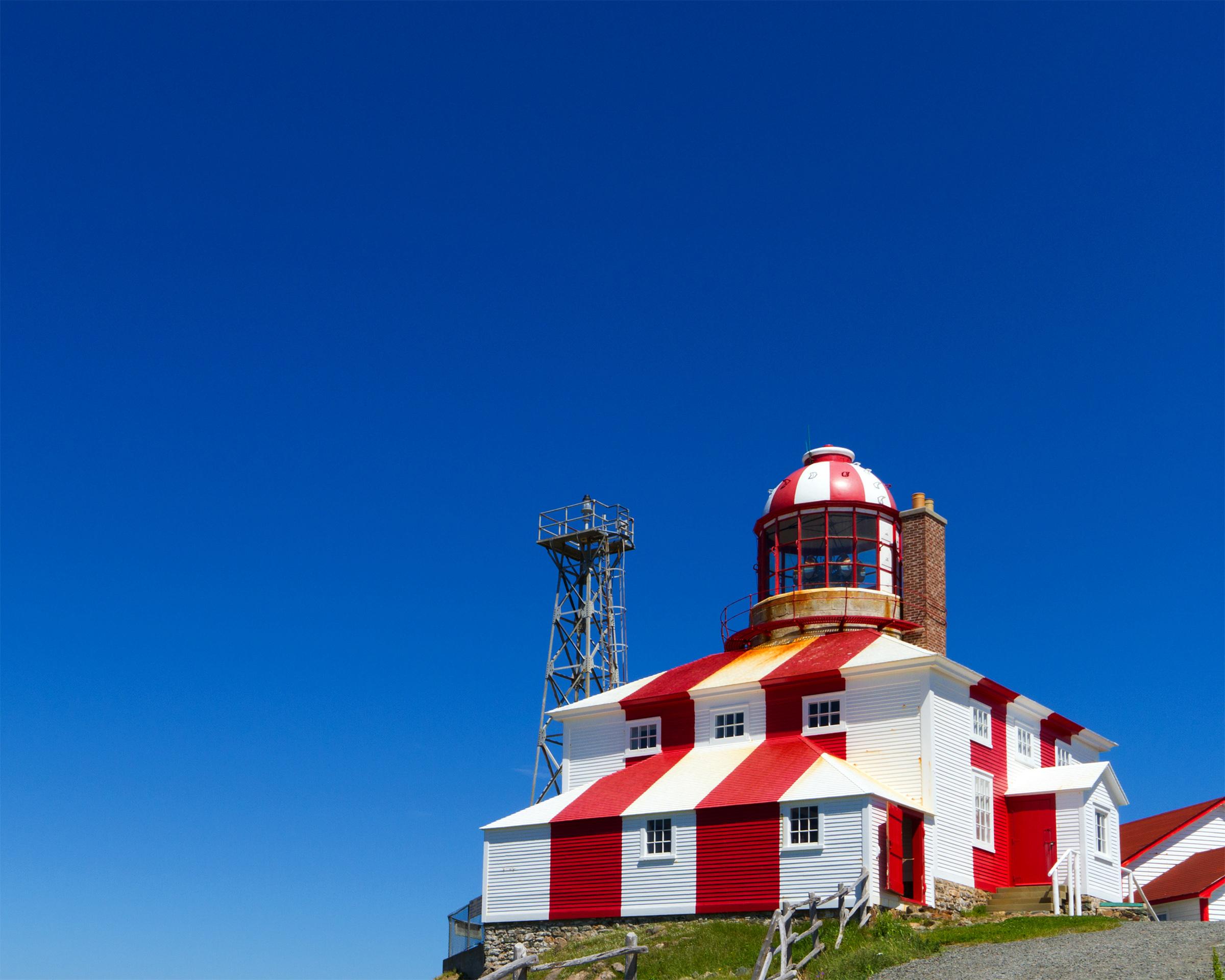 Lighthouse, Atlantic, Newfoundland, Travel, Tourism, HQ Photo