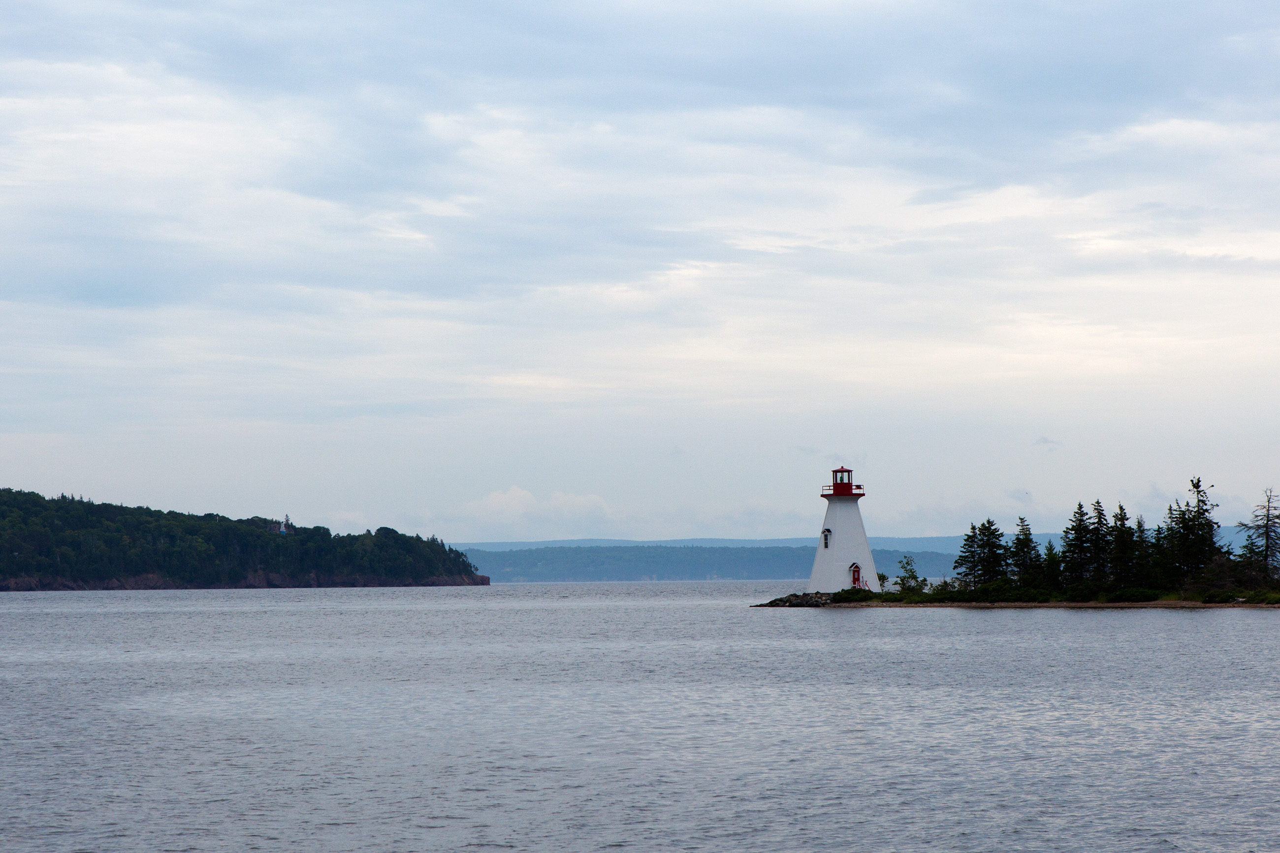 Lighthouse in atlantic canada photo