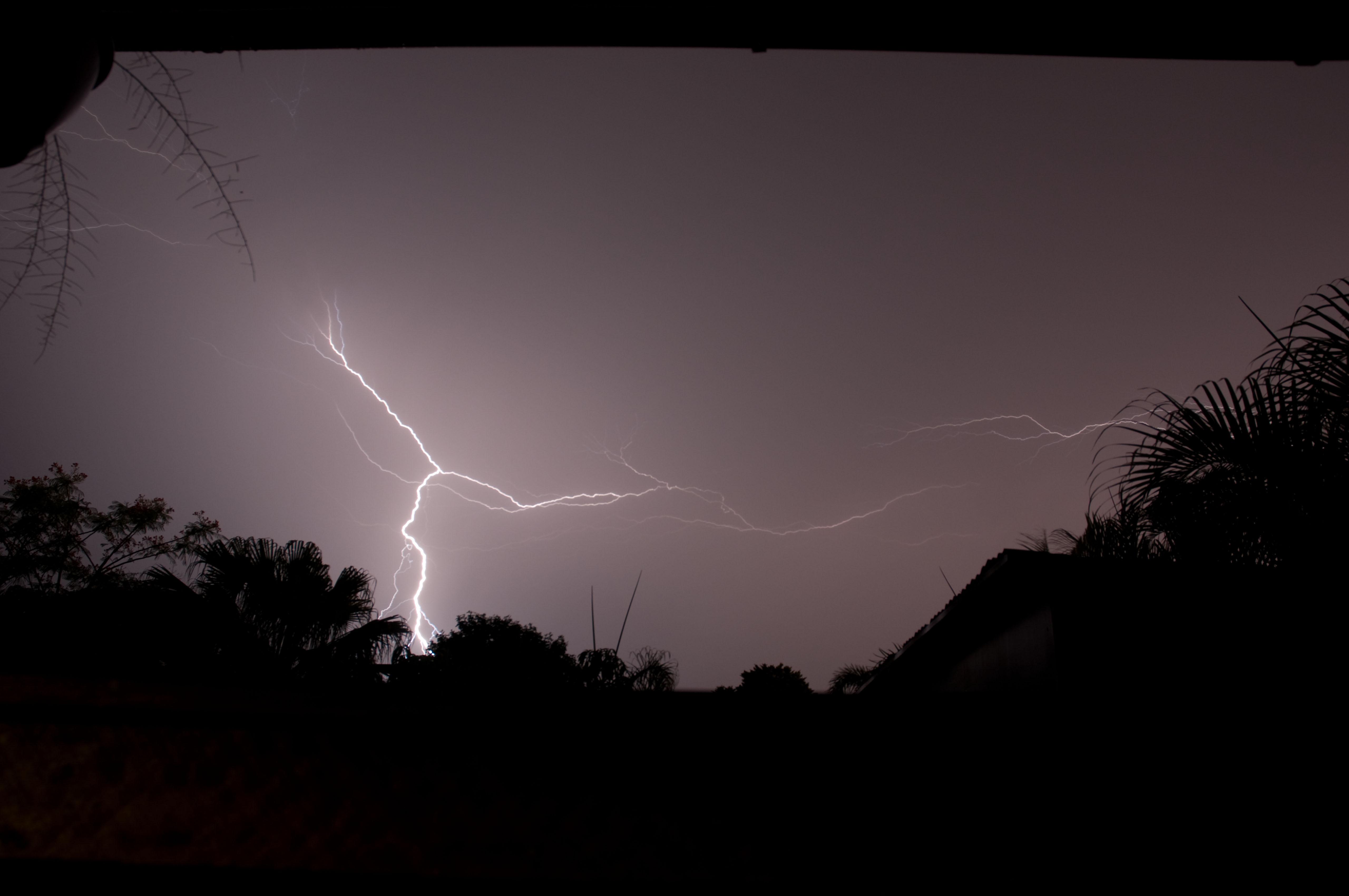 Lightning, Energy, Storm, HQ Photo