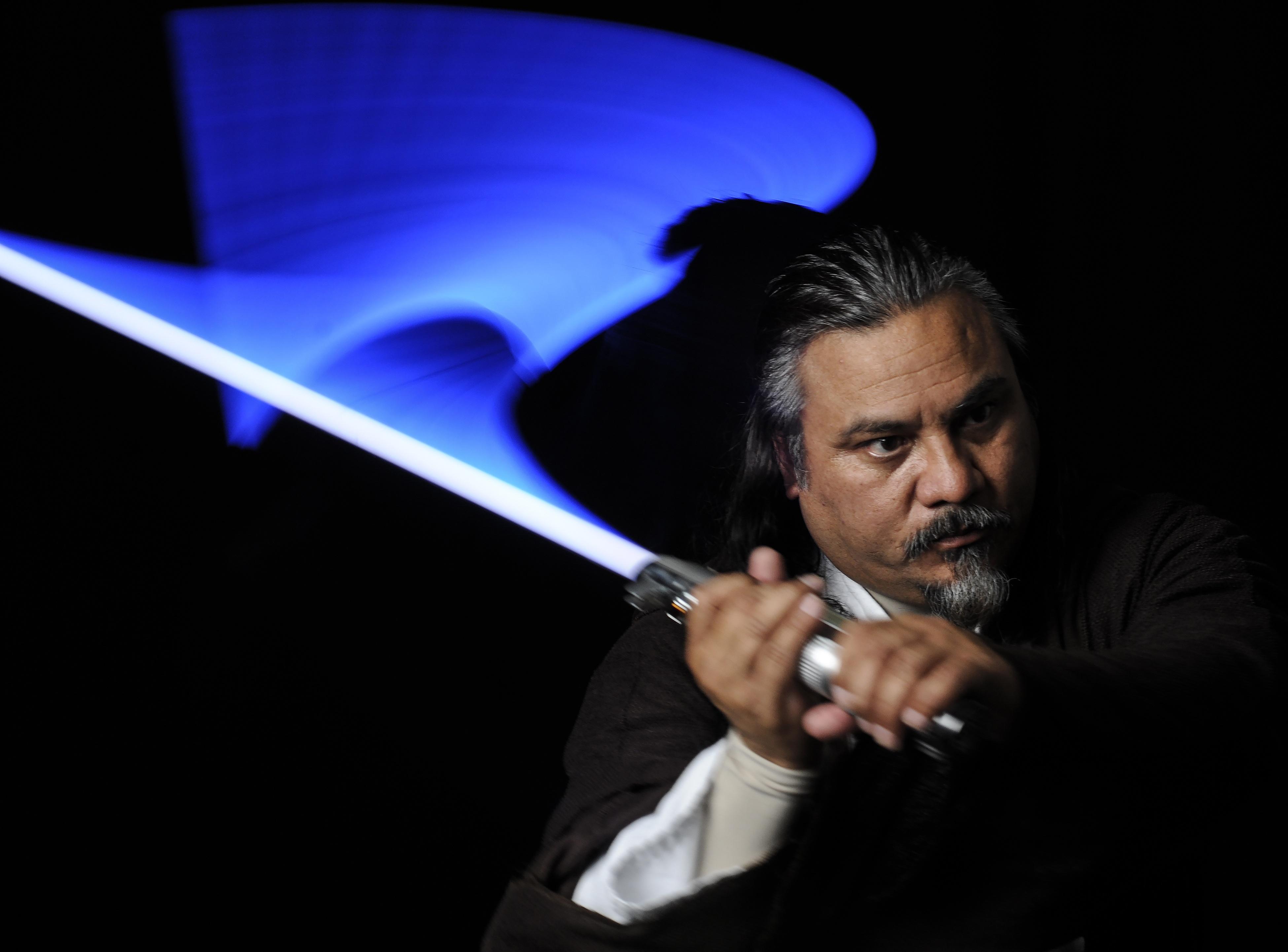 Lightning sword photo