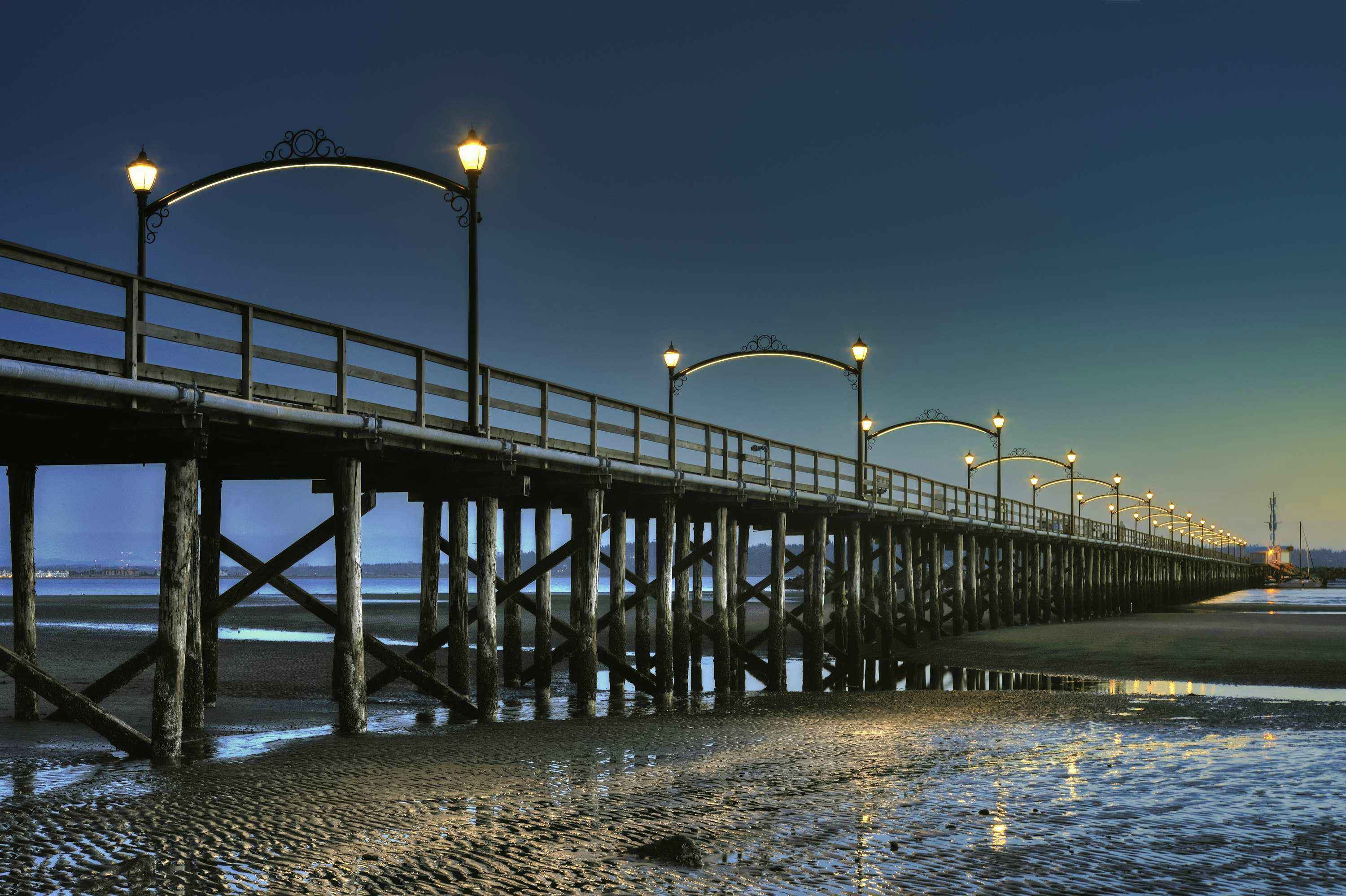Lights Of Pier Architecture Travel