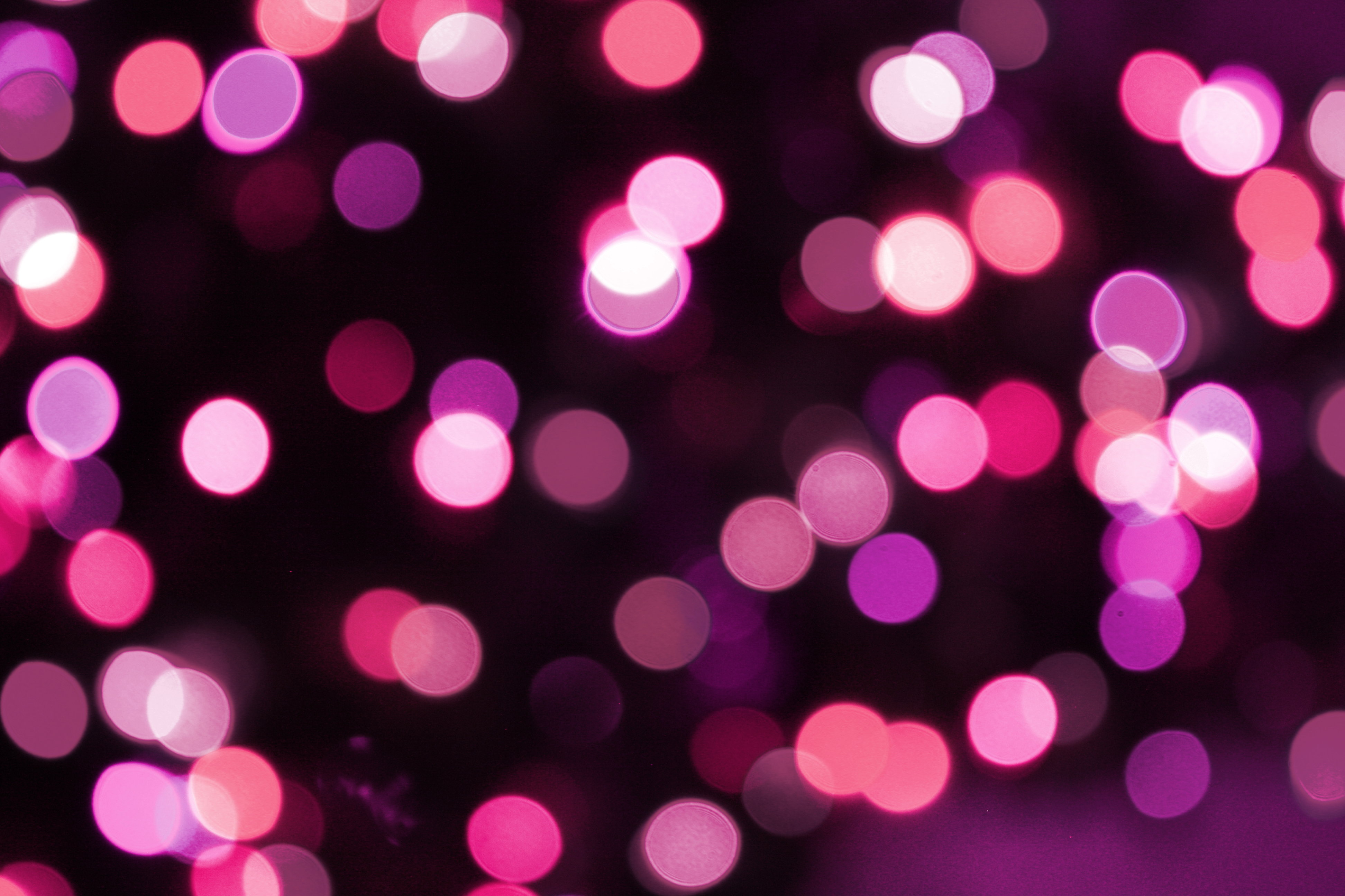 Soft Focus Pink Christmas Lights Texture Picture | Free Photograph ...