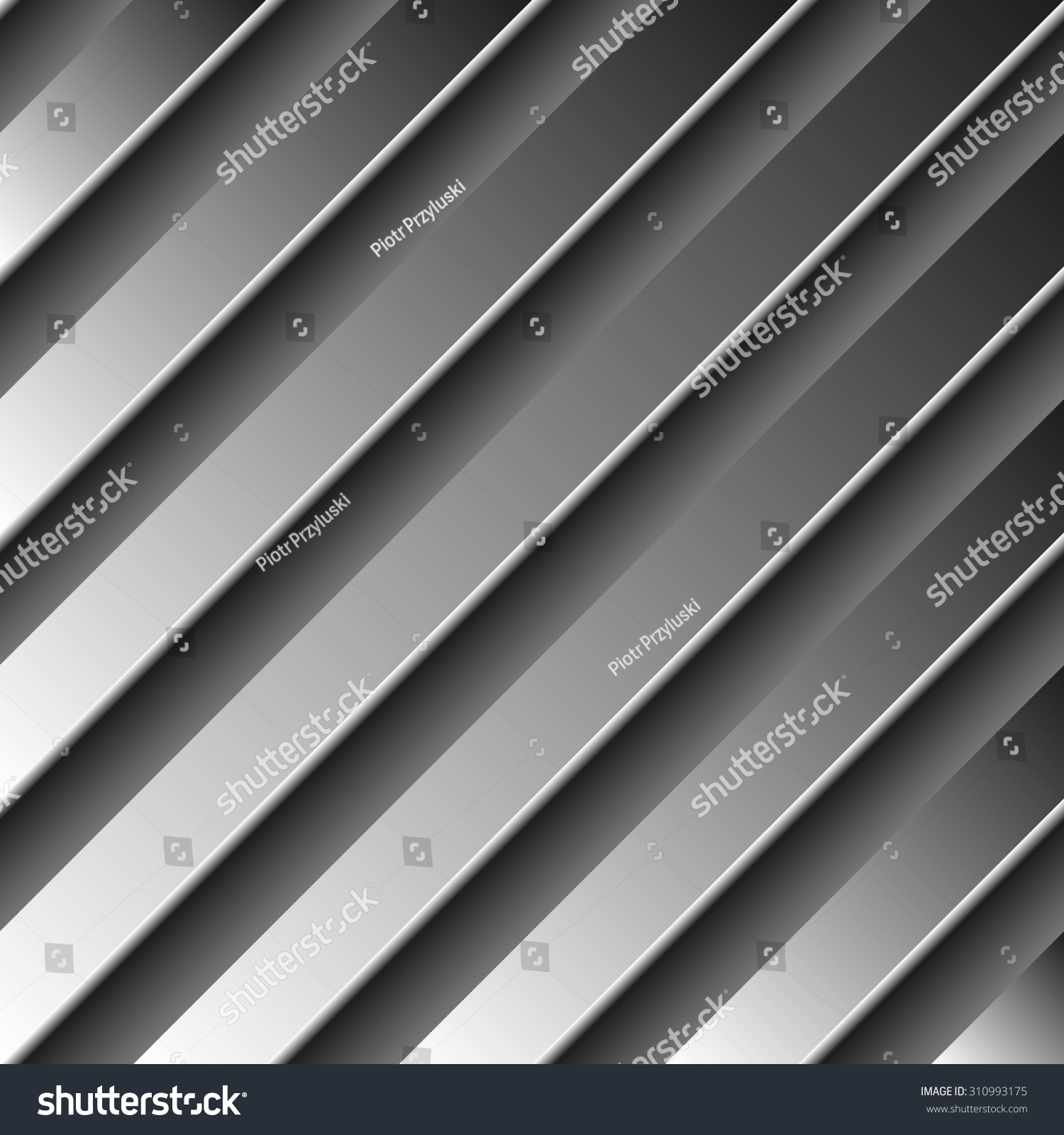 Linear metal background photo