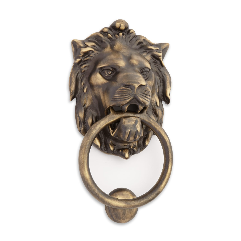 Lion door knob photo