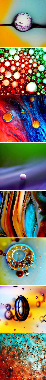 Liquids & Bubbles Photography macro shots by Janet Waters – liquid ...