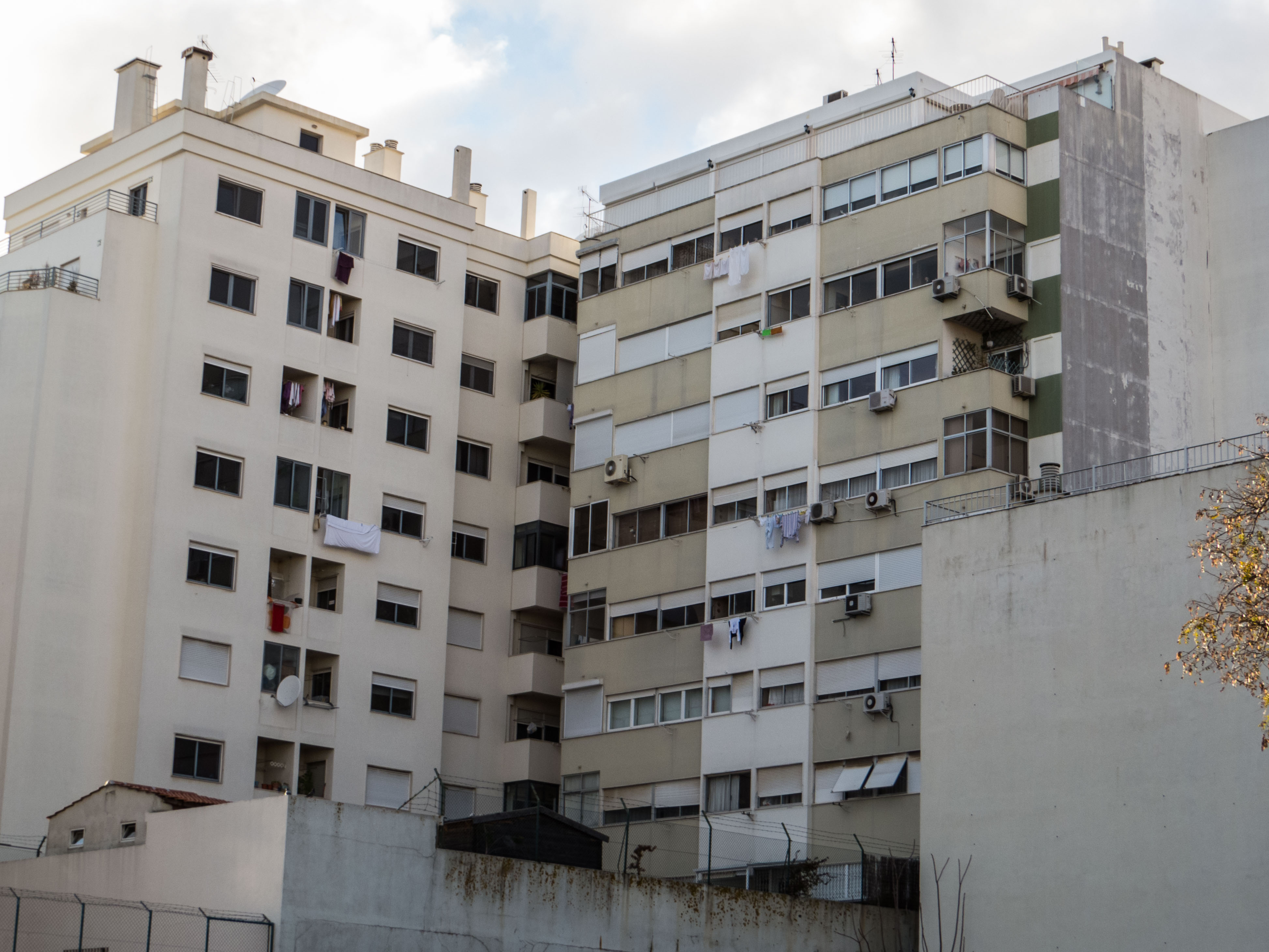 Lisbon architecture - slum, Bad, Building, Floors, High, HQ Photo