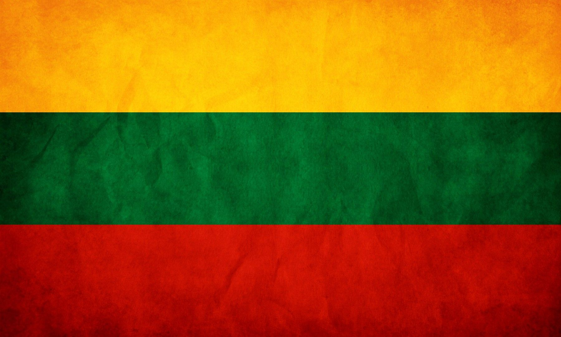 Lithuania grunge flag photo