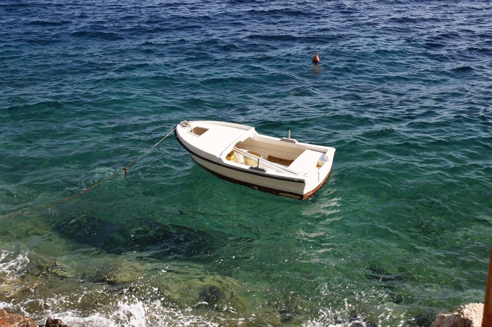 Little Boat by the Shore, Boat, Ocean, Sea, Shore, HQ Photo