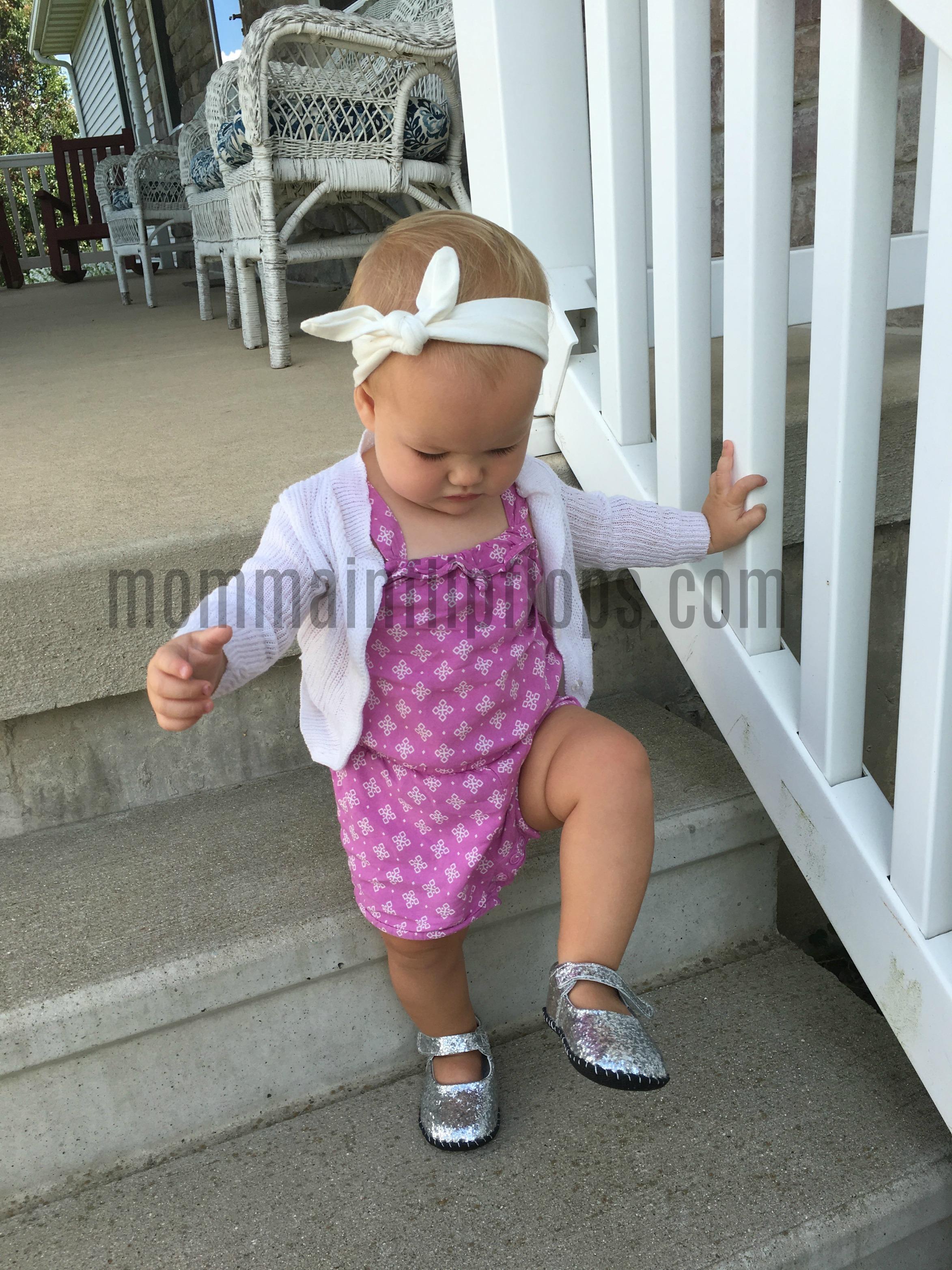 Sparkling Little Girls Shoes from Pediped Footwear - momma in flip flops