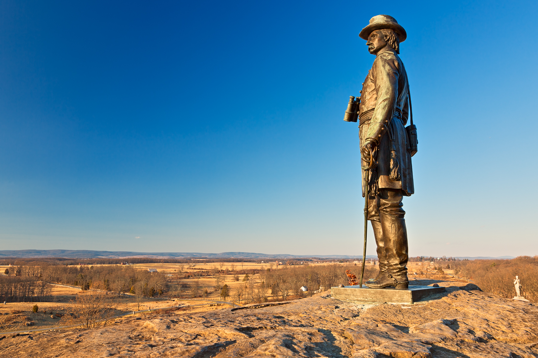 Little Round Top Overlook - HDR, Age, Road, Sculpture, Scenic, HQ Photo