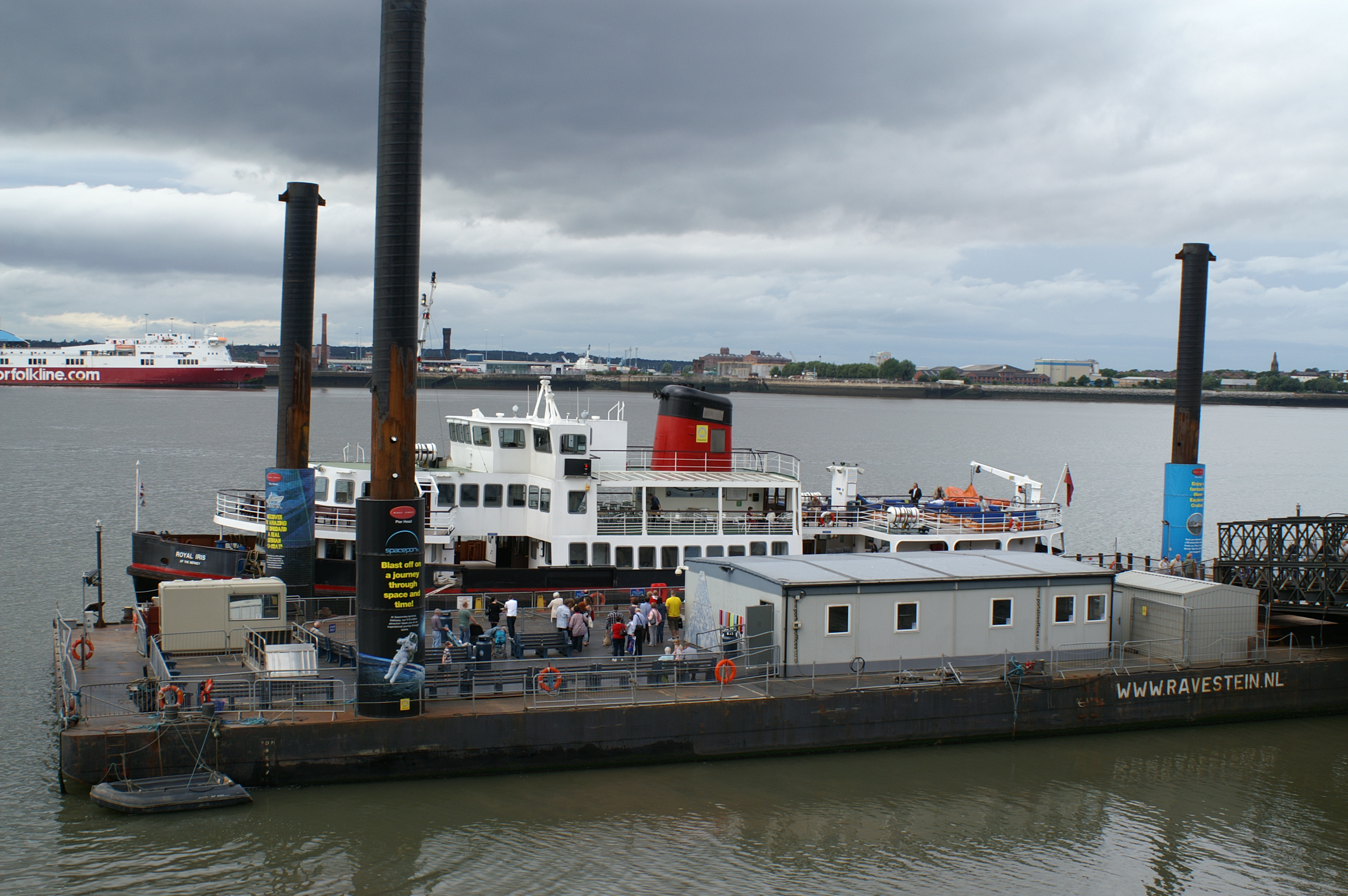 Littlewoods sponsors 'Spot the Mersey Ferry', Boat, Ferry, Liverpool, Mersey, HQ Photo