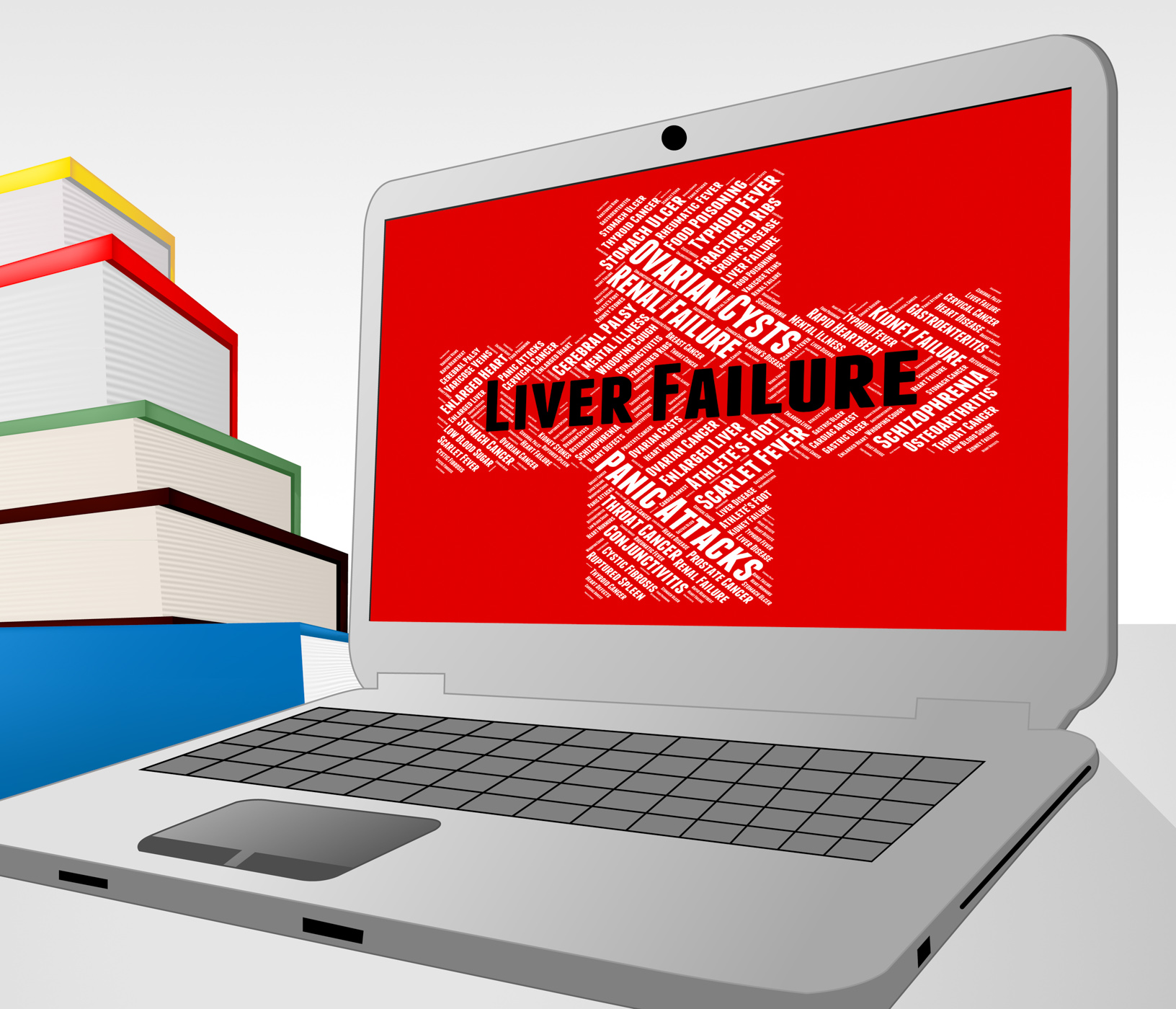 Liver failure means lack of success and afflictions photo