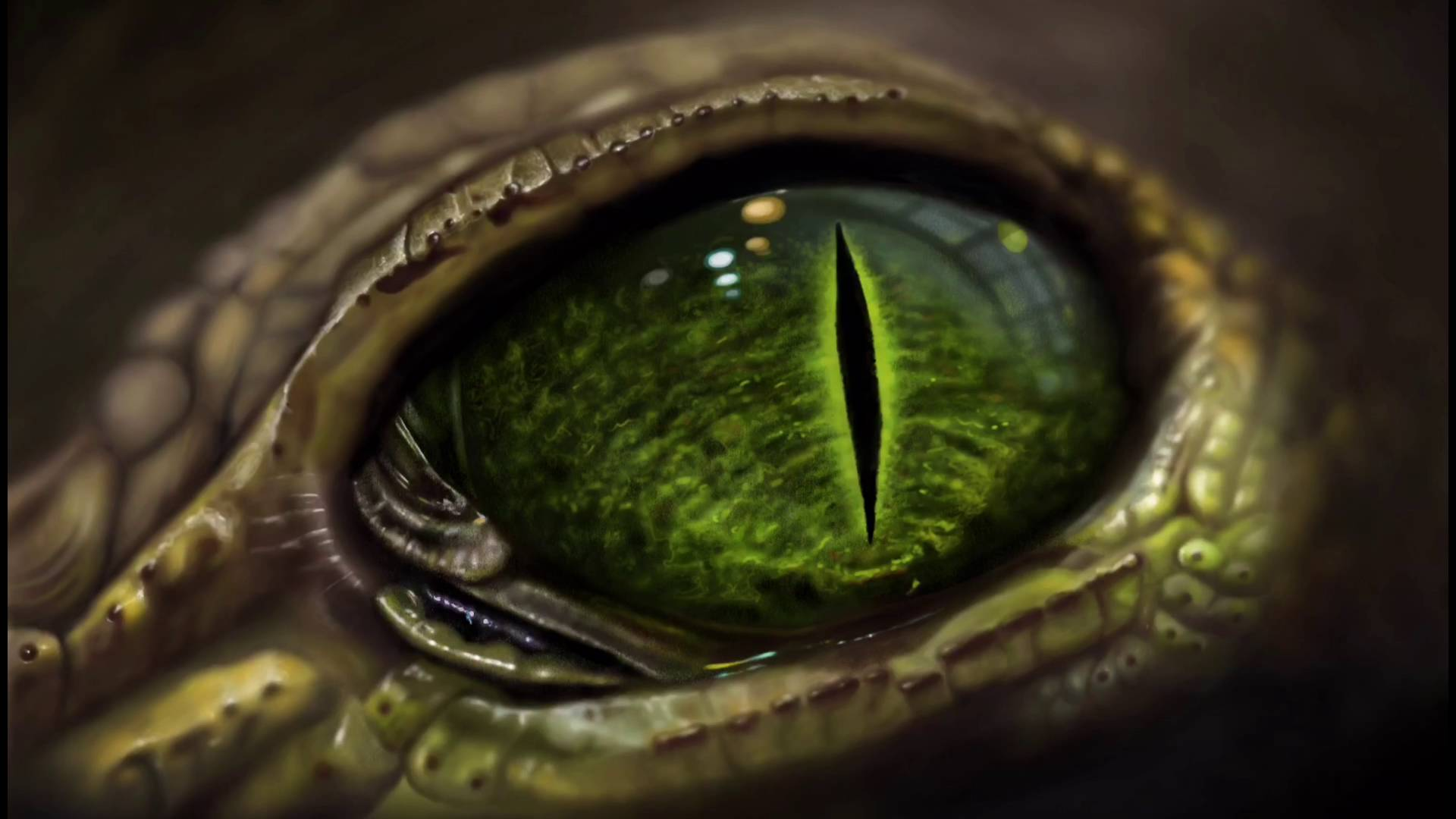 Apple Pencil Painting On IPad Pro Of Lizard Eye By Noel Campion ...