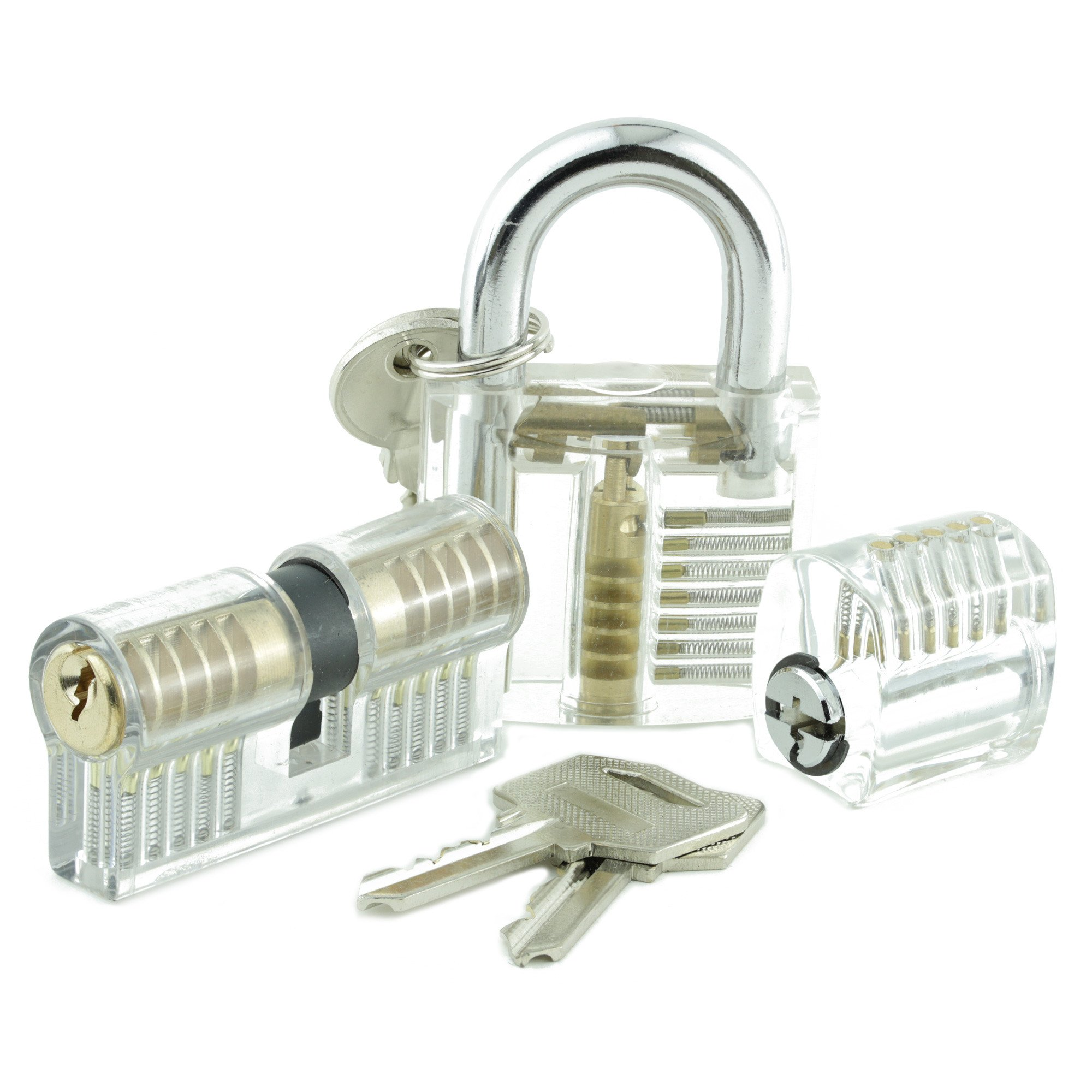 Dangerfield Training / Practice Locks for Lock Pickers - Set of ...