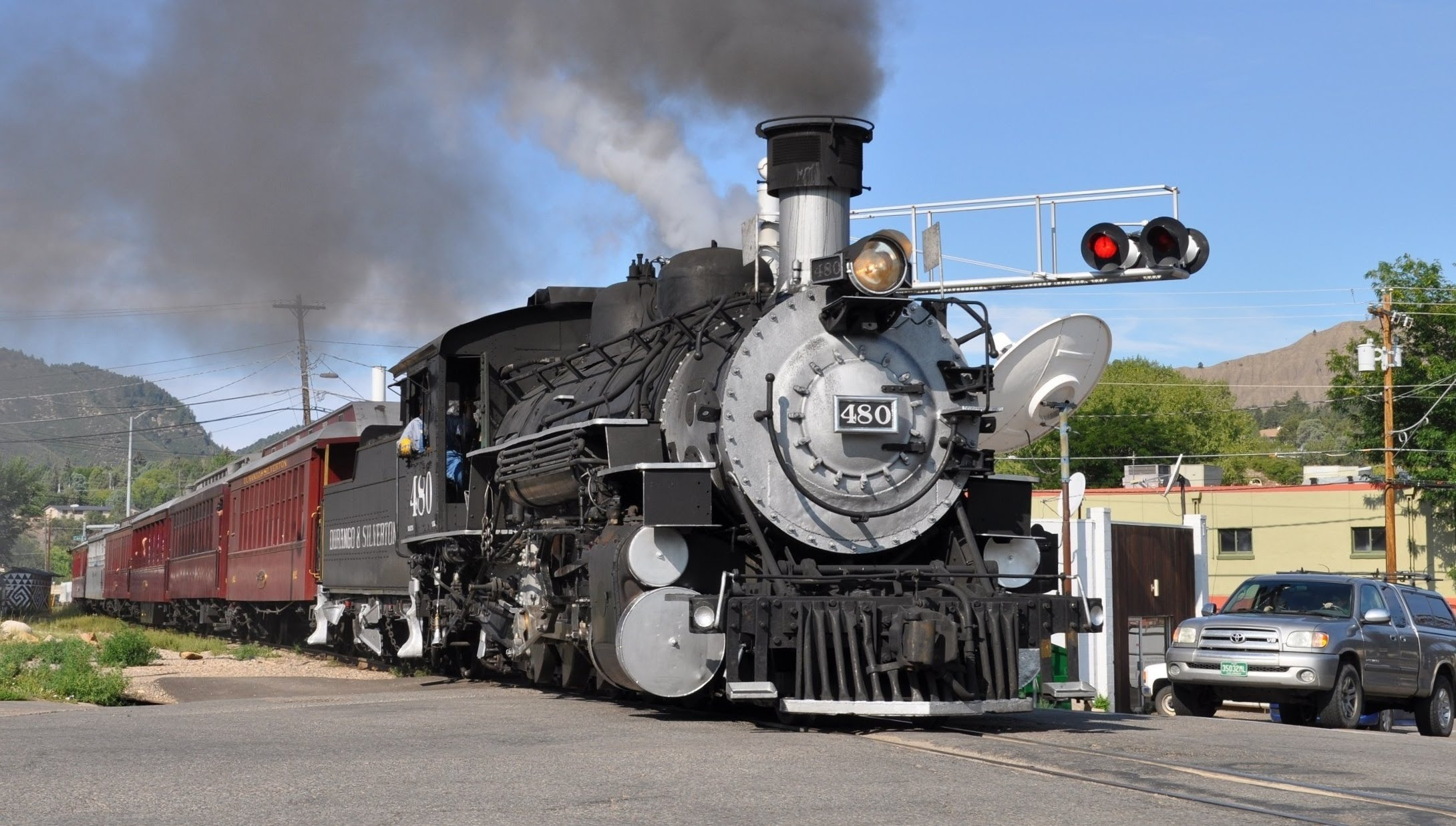 Stock video | vintage steam engine train flash animation | free.