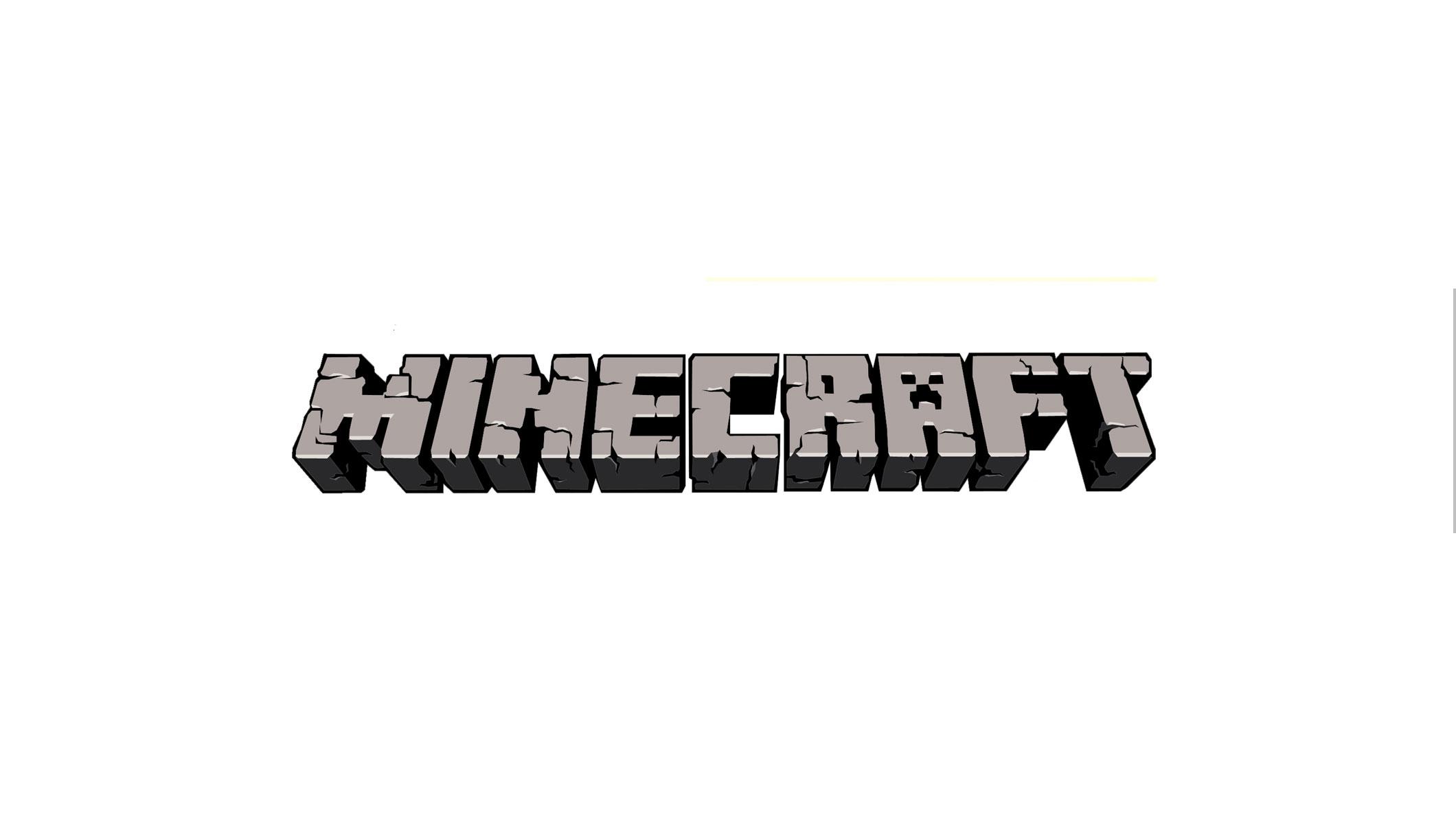 Minecraft Logo Channel Art Banner - YouTube Channel Art Banners