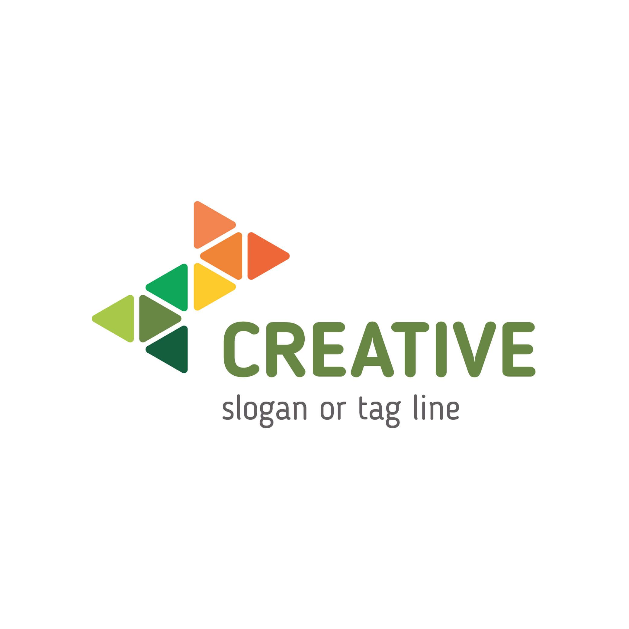 Buy Creative Logo Template for creative company