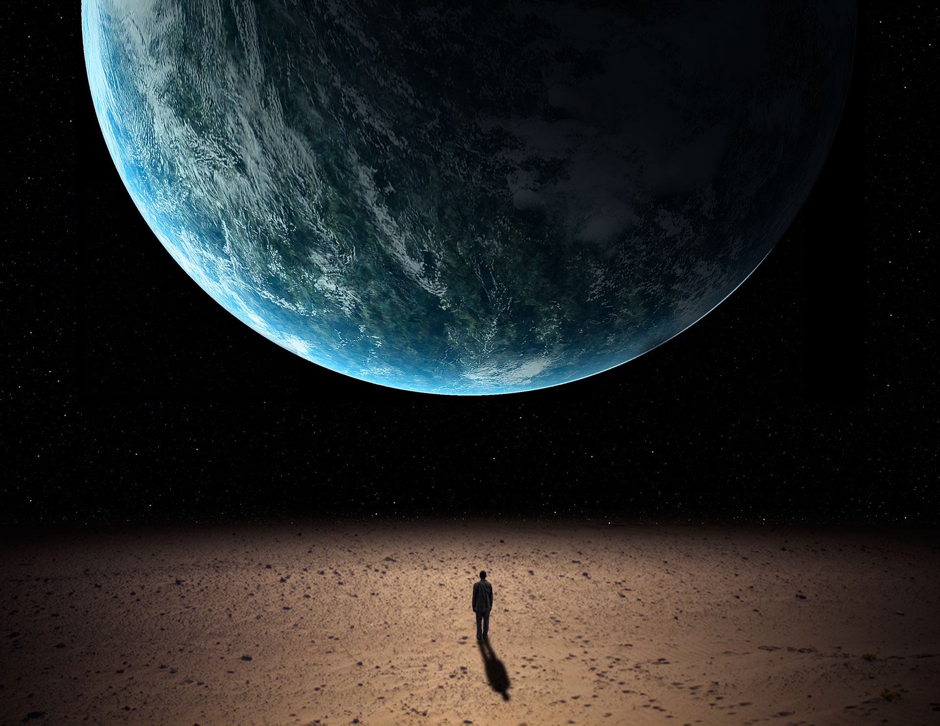 Lonely in space photo
