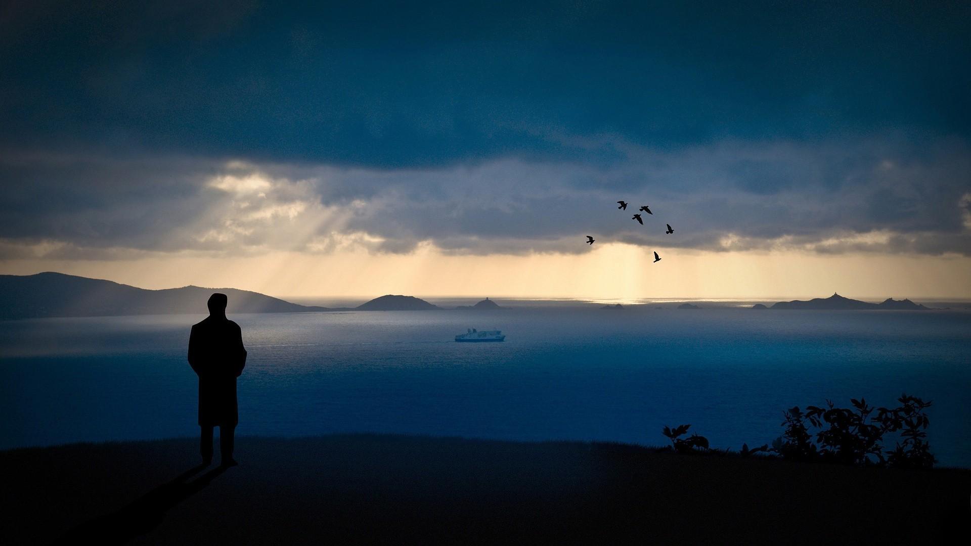 Lonely sea wallpaper | (51694)
