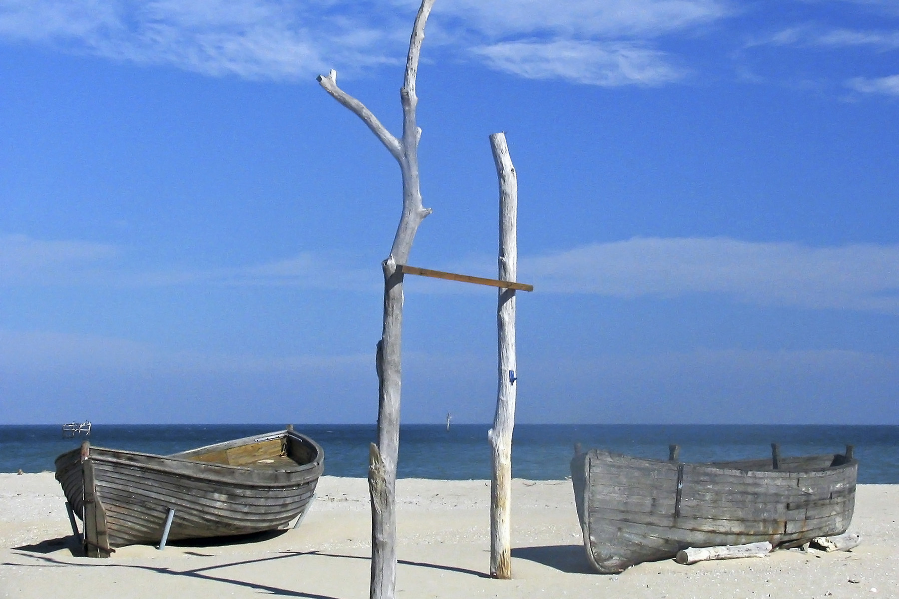 Lonely Sea, Beach, Blacksea, Boats, Bspo06, HQ Photo