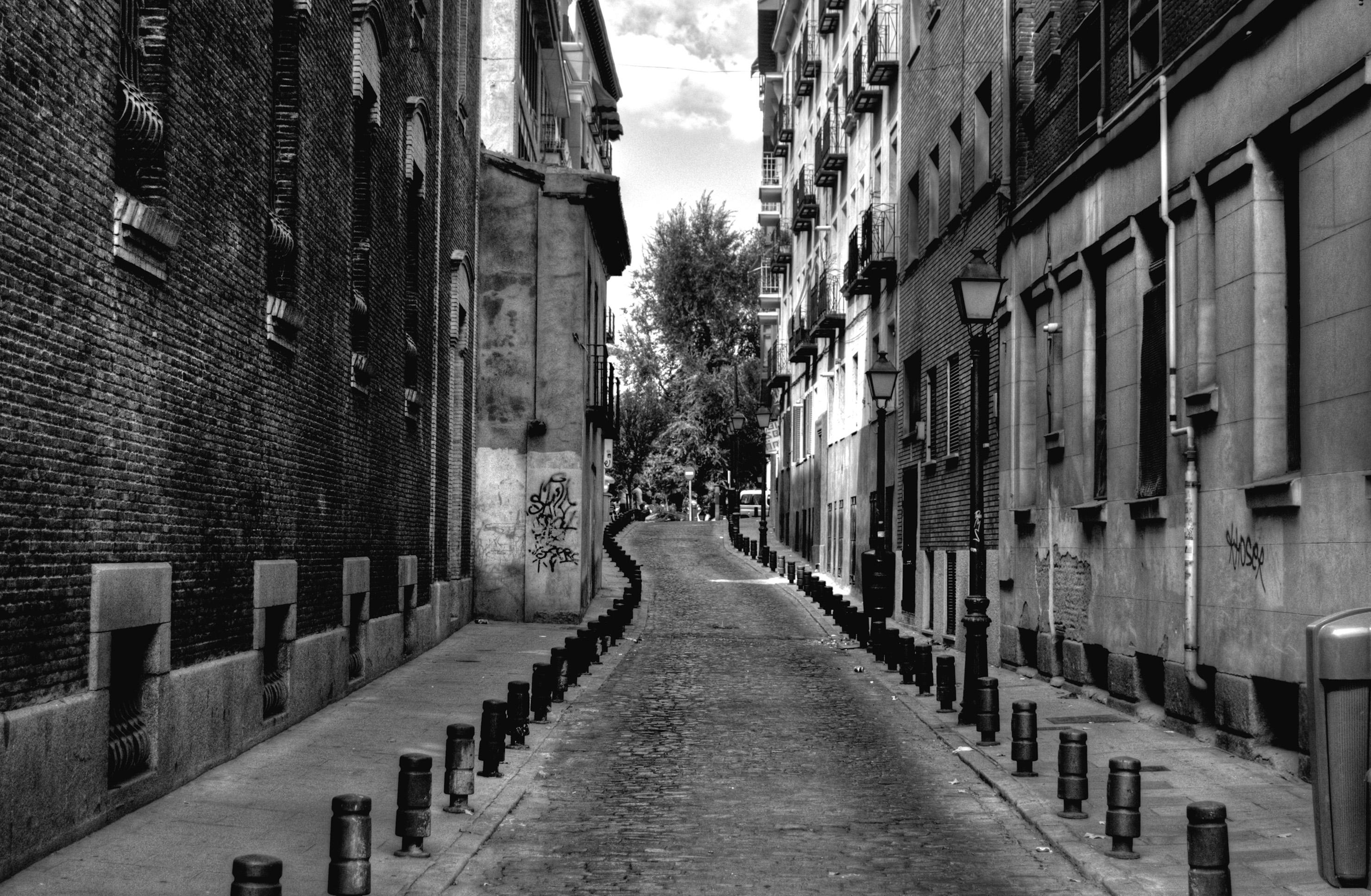 Lonely street photo