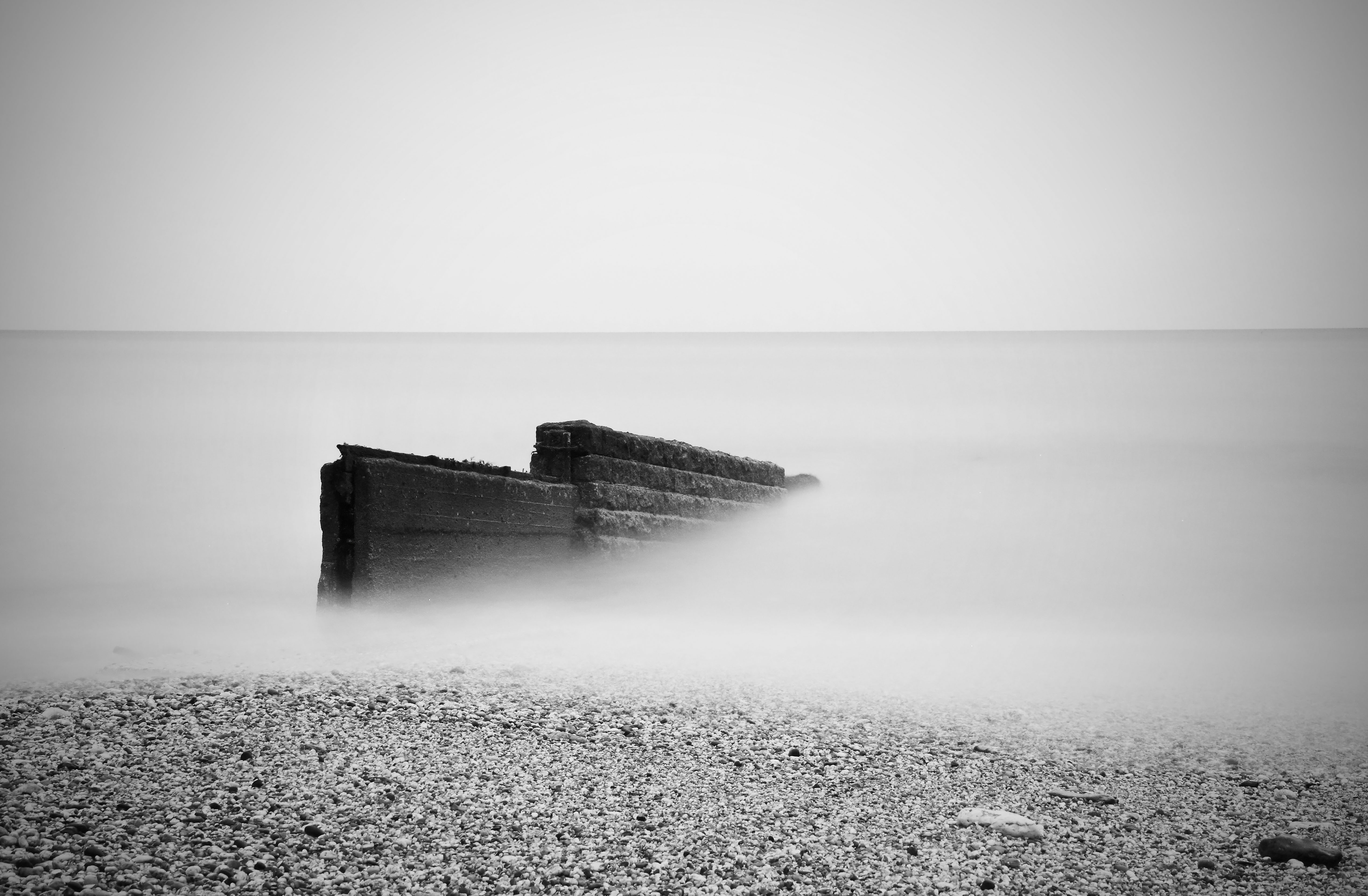Long exposure seascape photo