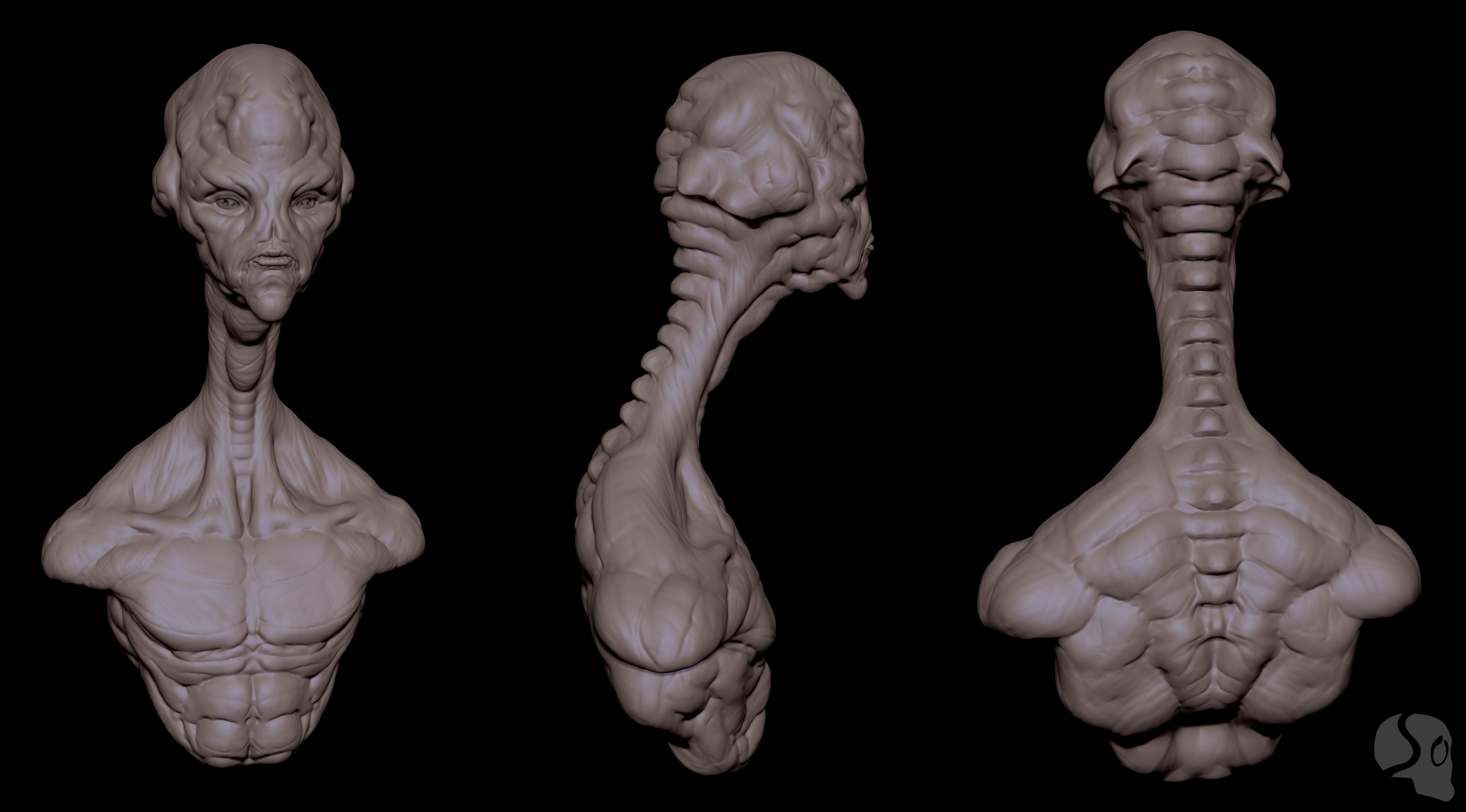 long neck alien sheet by crazy-pixel on DeviantArt