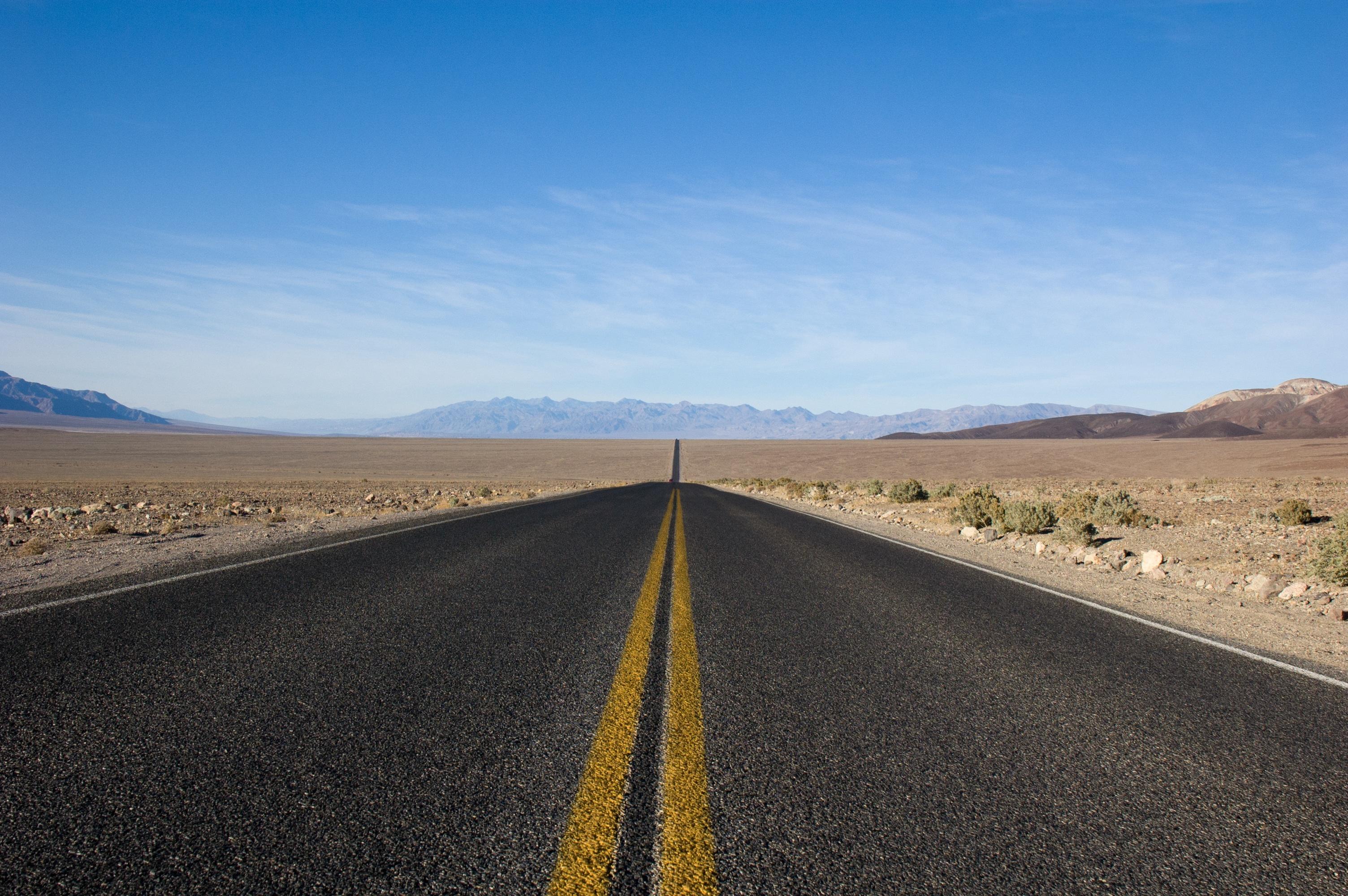 Free Photo Long Road Empty Landscape Long Free Download Jooinn