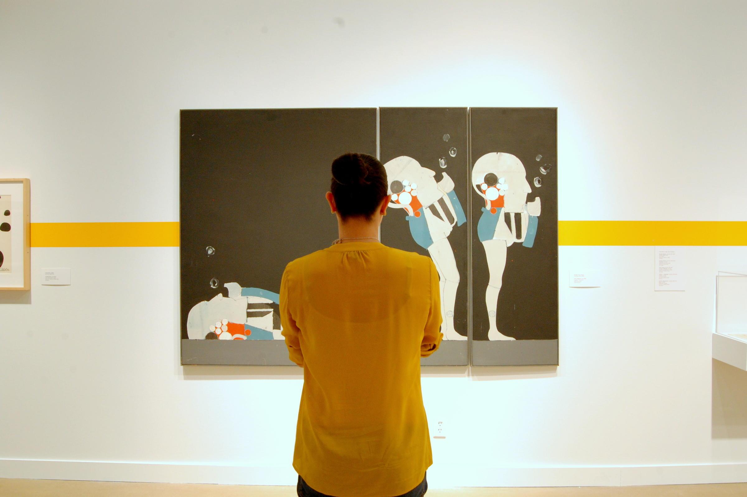 Looking at art photo