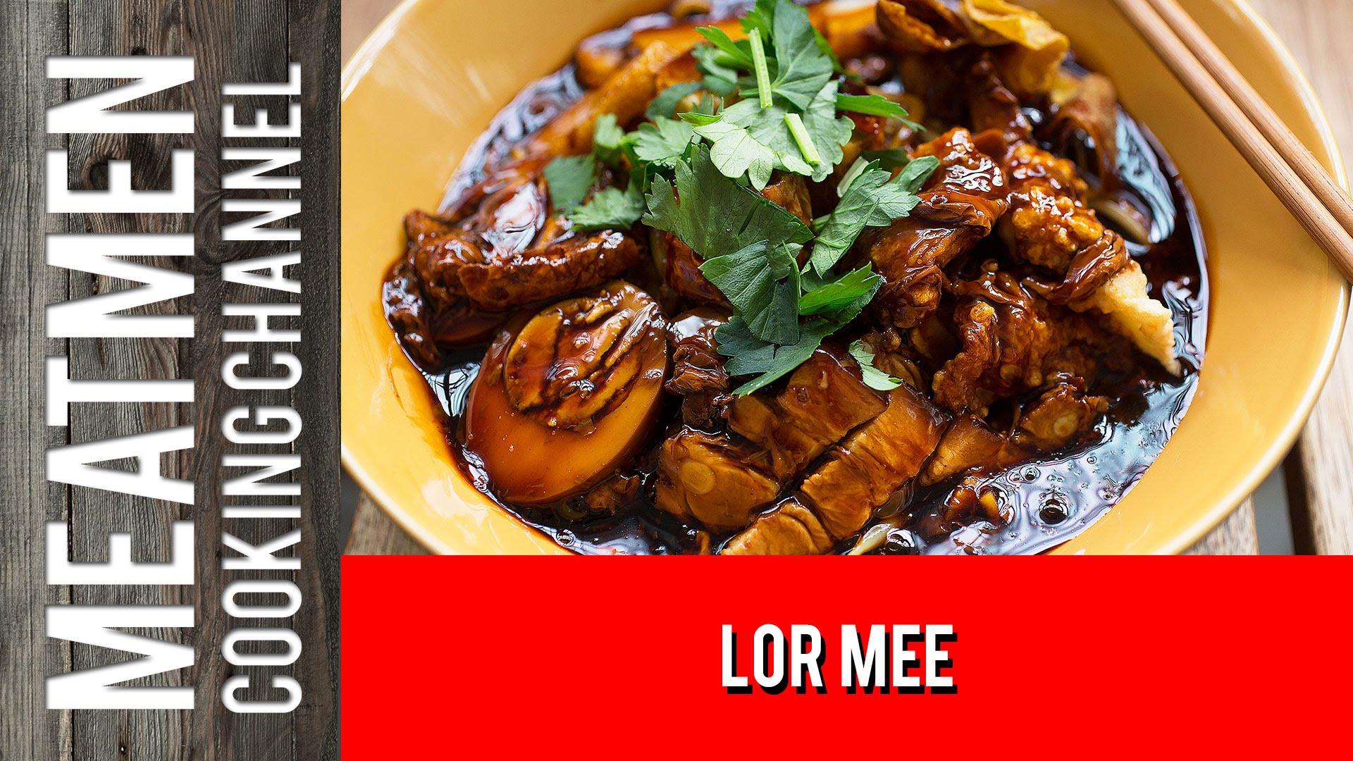 Lor Mee - 卤面 - YouTube