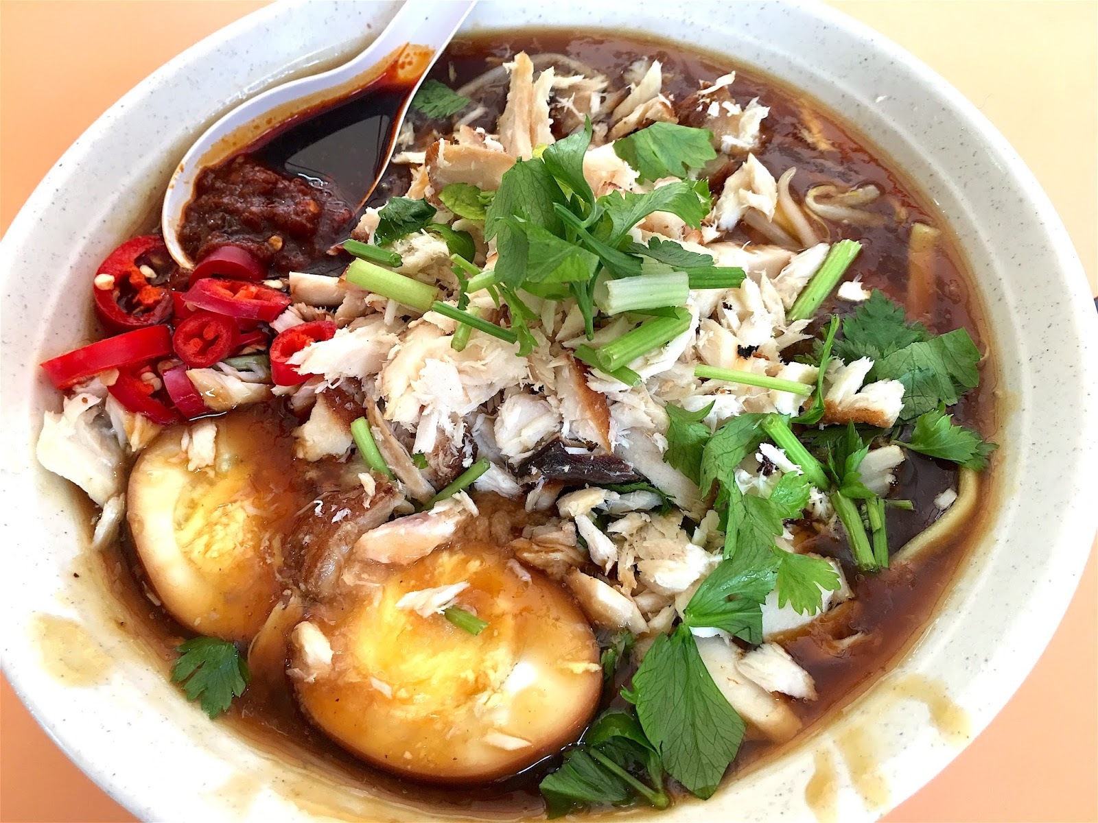 Xin Mei Xiang Lor Mee 新美香卤面 at Old Airport Road Hawker Centre ...