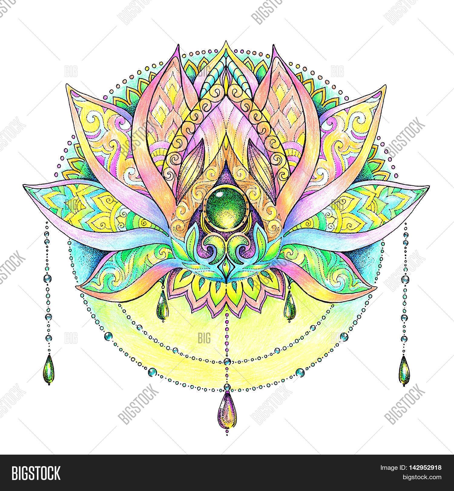 Mandala; Pattern; Ornament; Indian Image & Photo   Bigstock