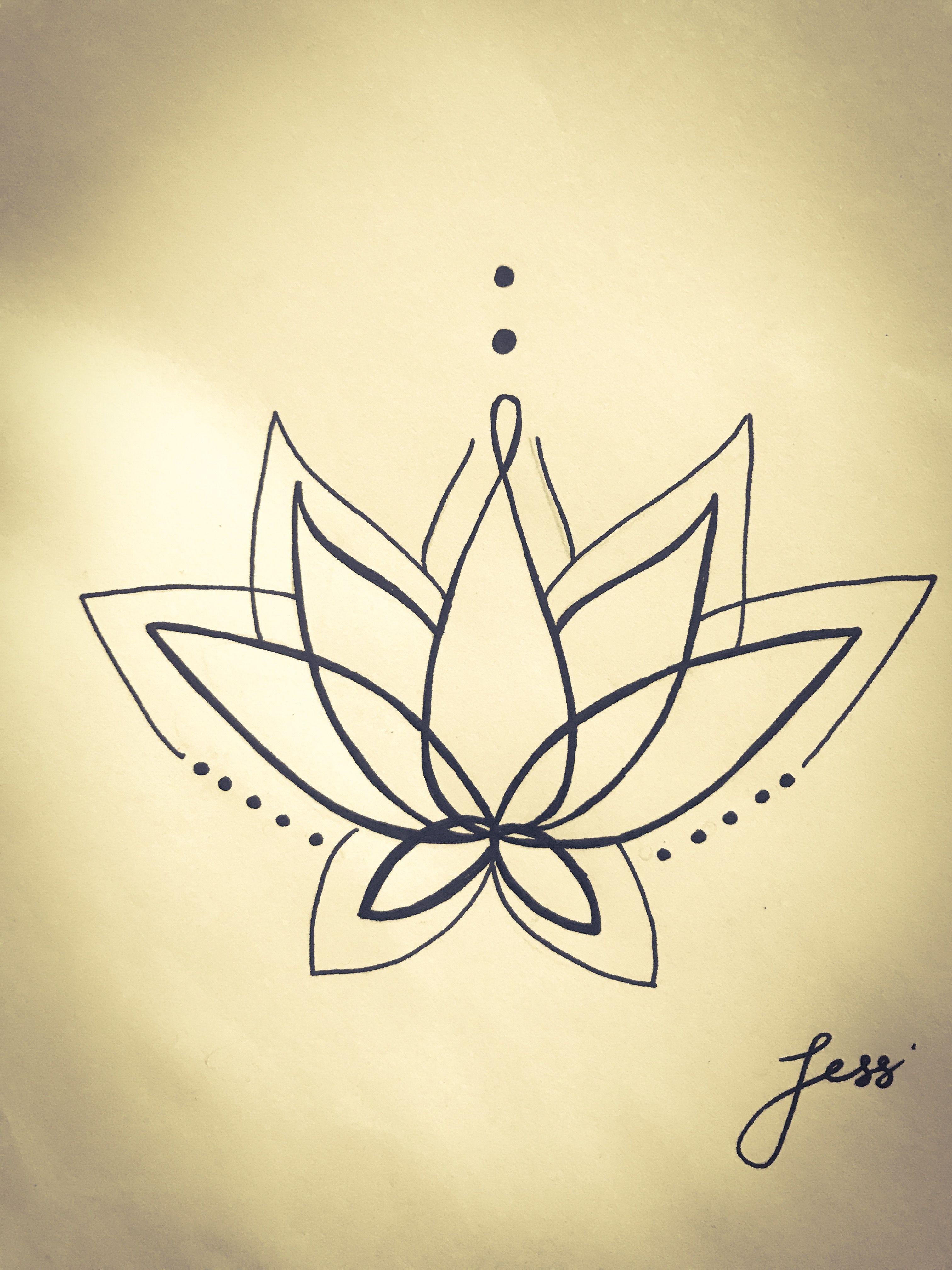 Lotus symmetry photo