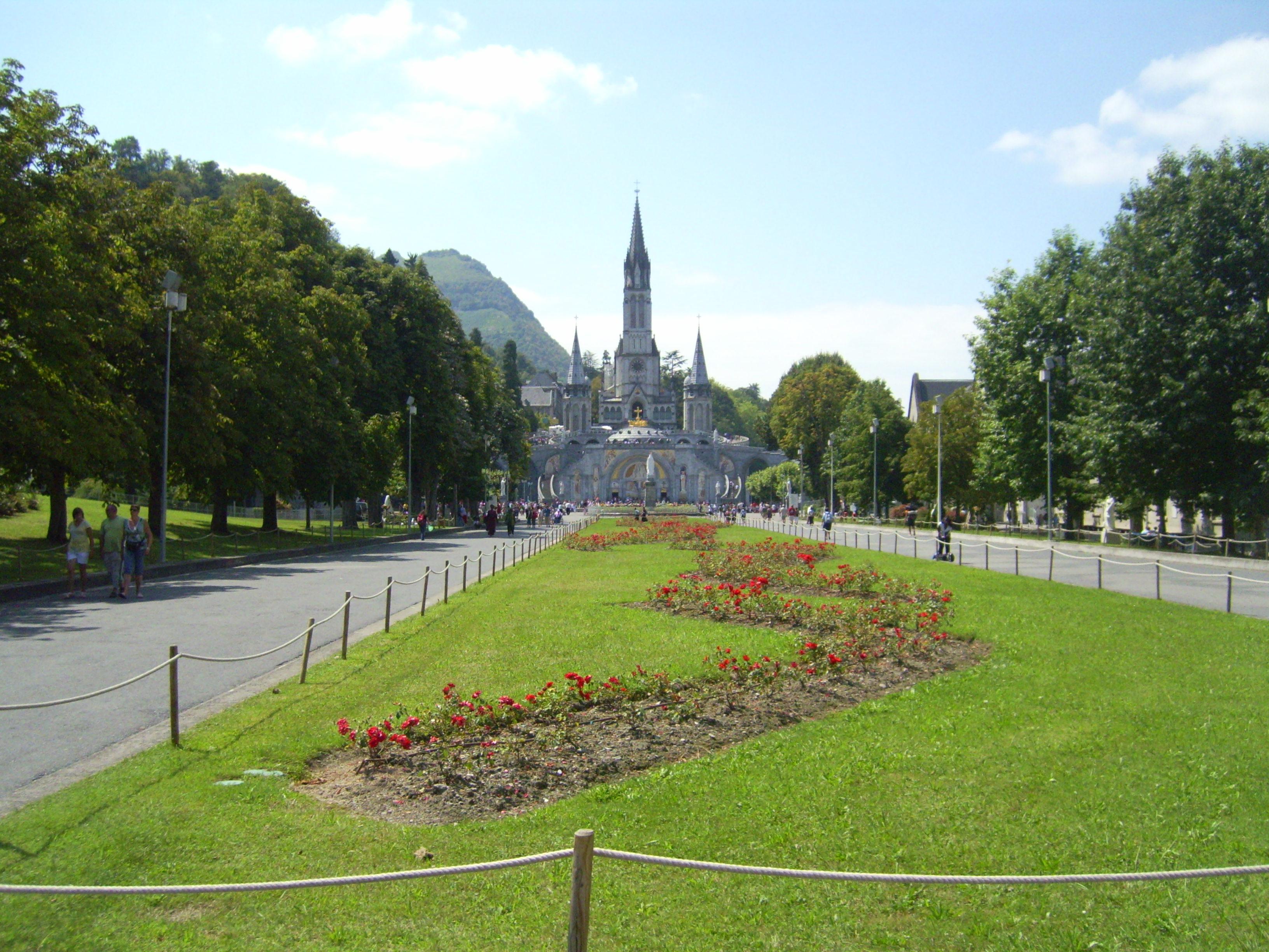 Lourdes, france photo