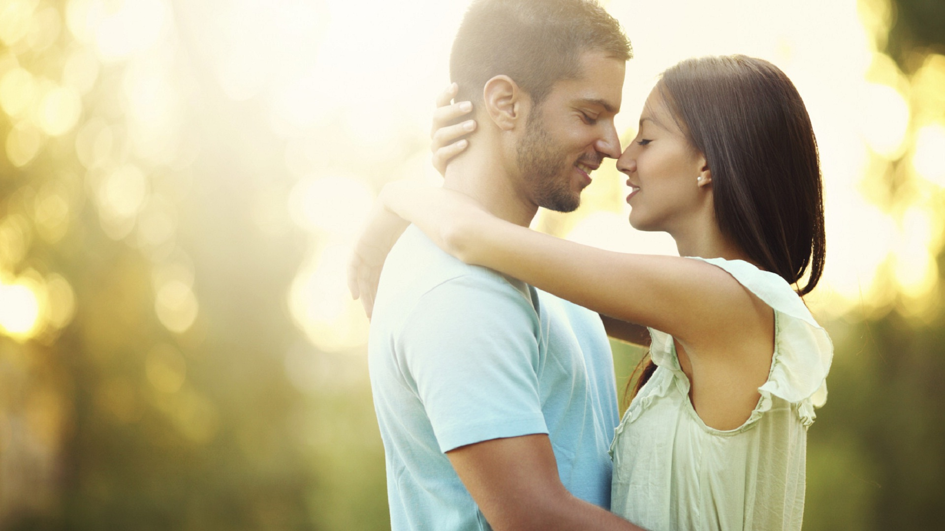 Happy young couple love and romance feelings   HD Wallpapers Rocks