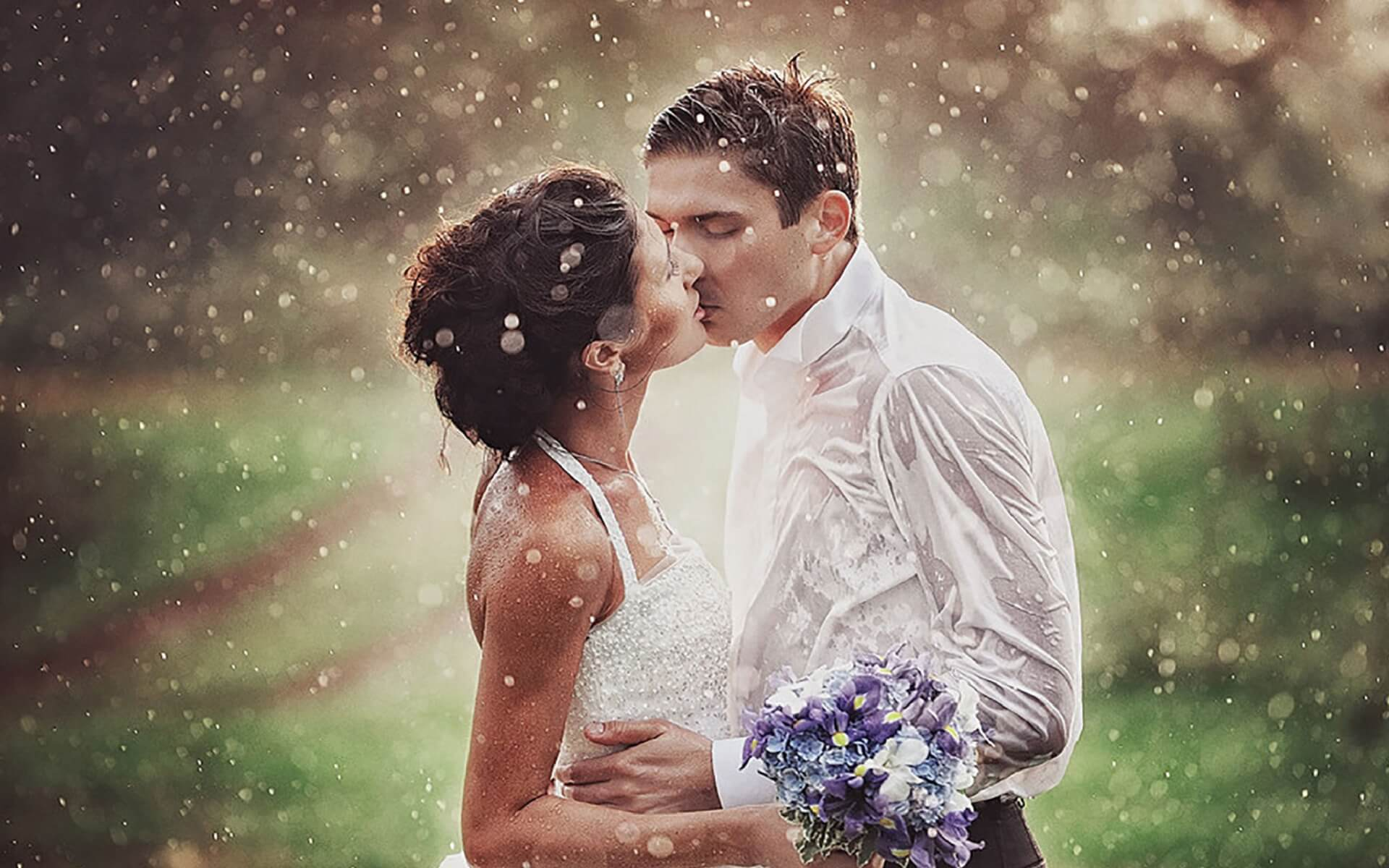 Cute HD Love and Romance Pictures Of Couples In Rain | EntertainmentMesh