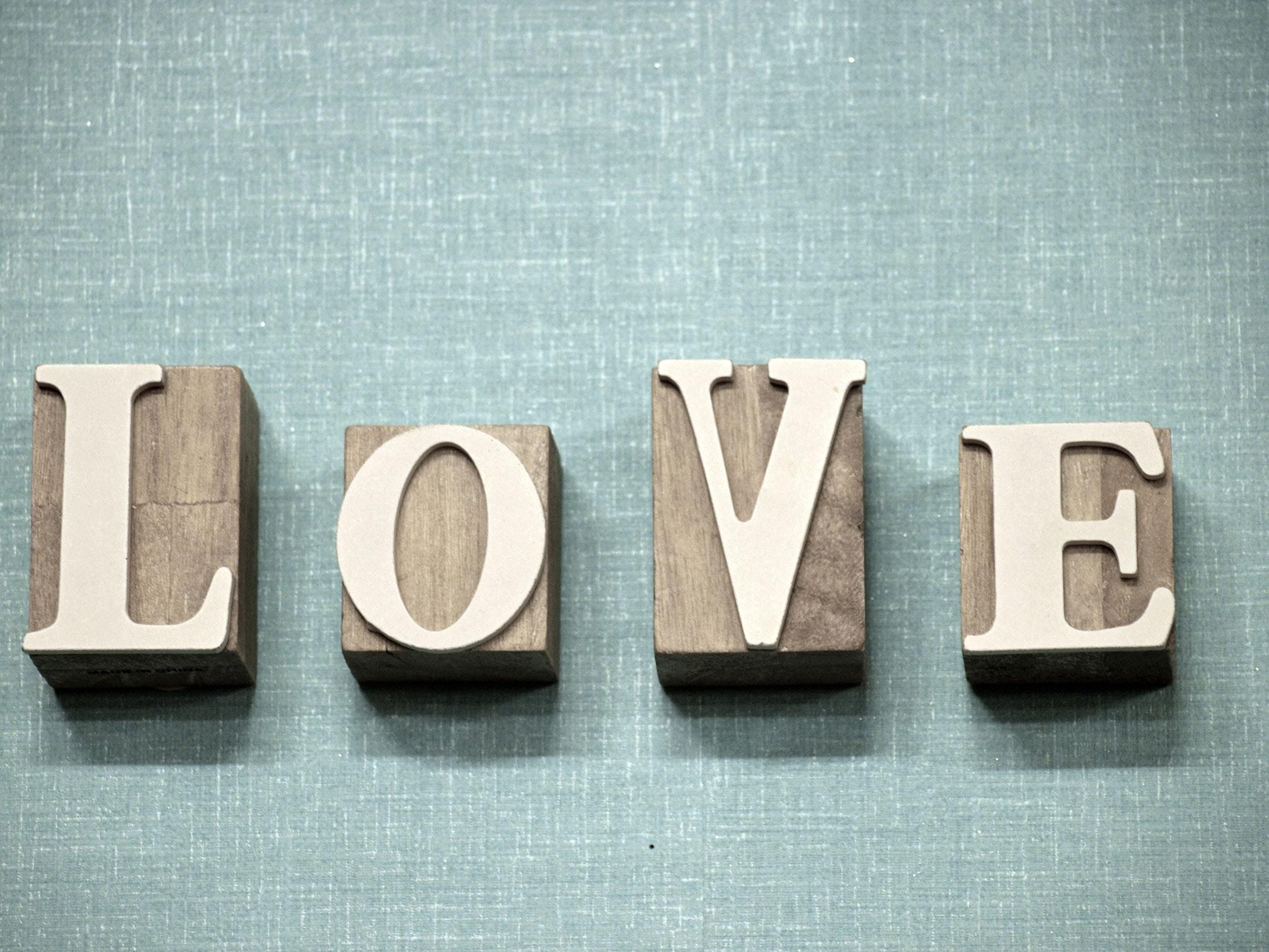Love decoration photo